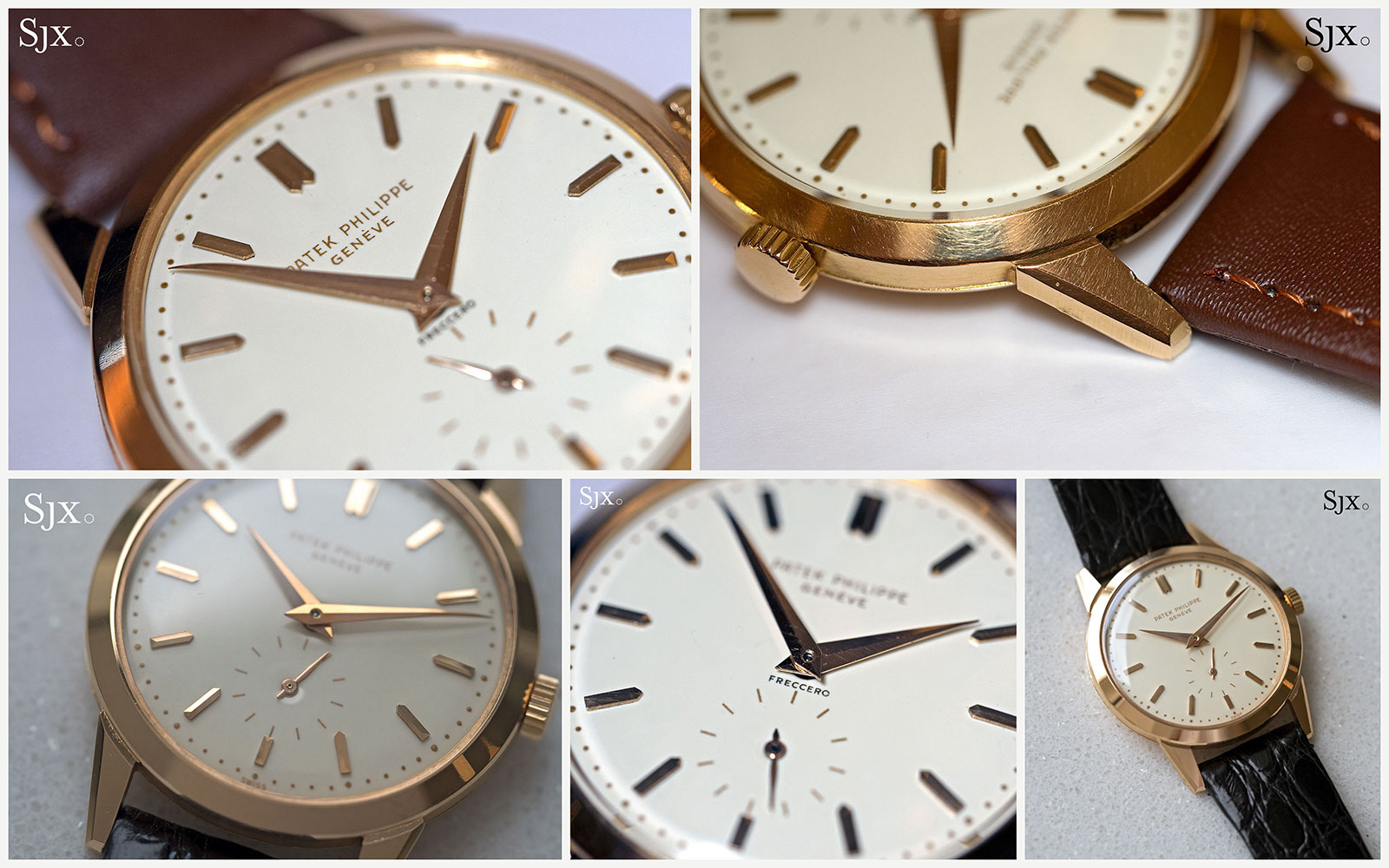 Patek Philippe 2577 collage