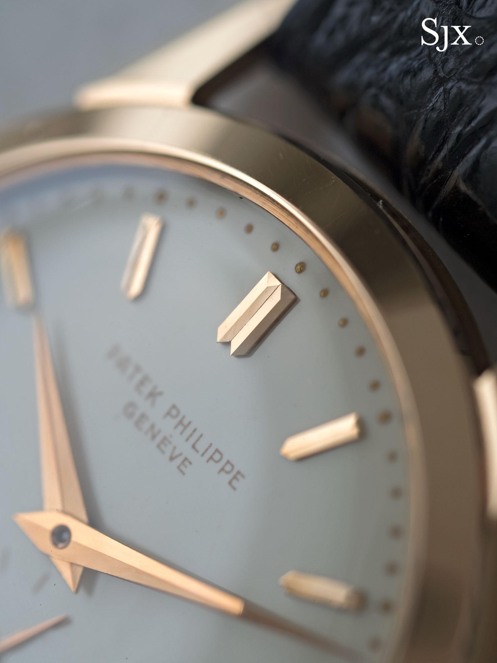 Patek Philippe 2577 pink gold enamel 8