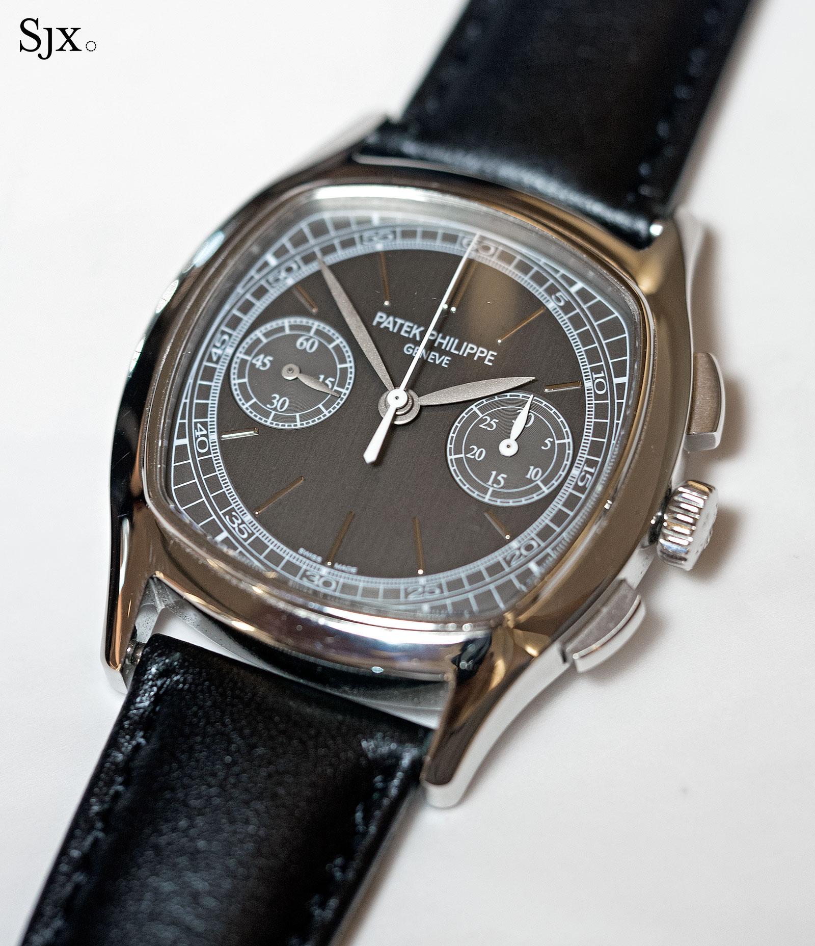 Patek Philippe 3670 chronograph steel 1