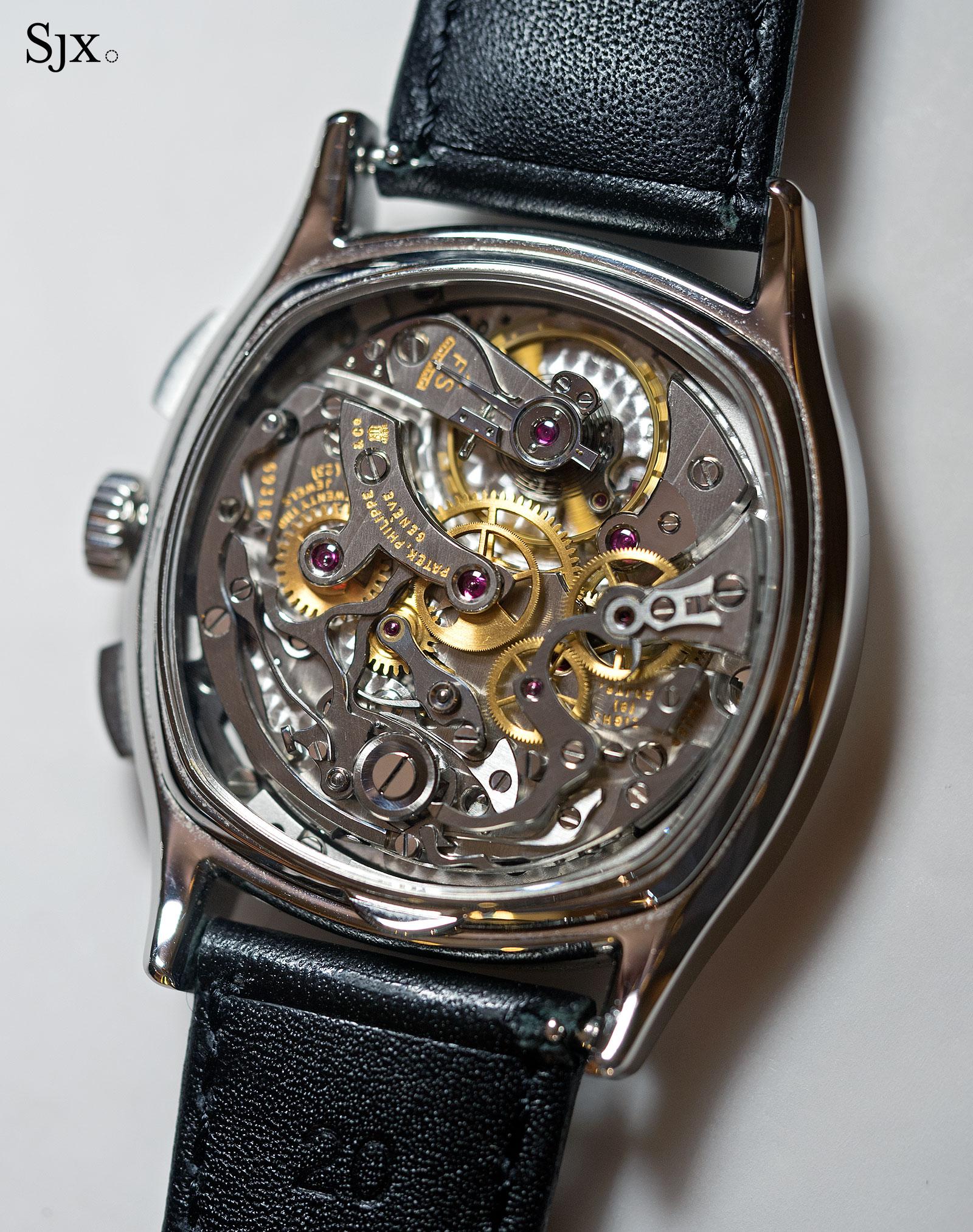 Patek Philippe 3670 chronograph steel 4