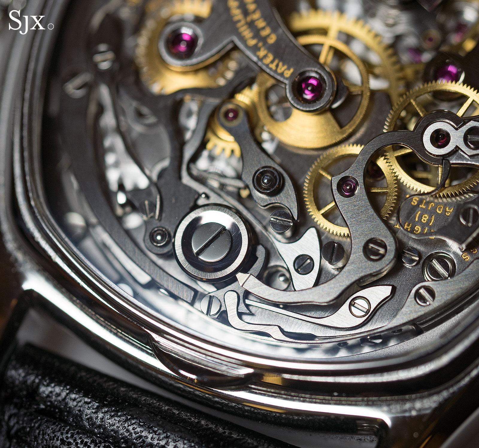 Patek Philippe 3670 chronograph steel 5
