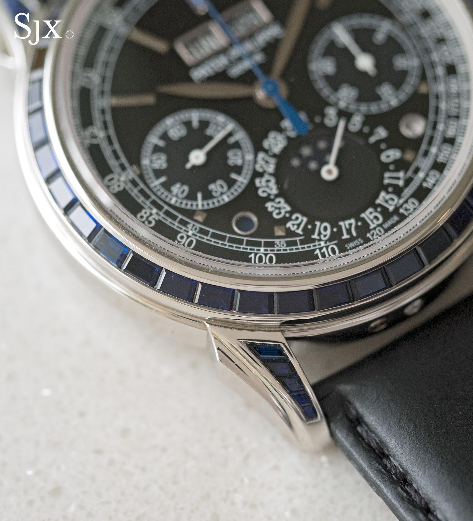 Patek Philippe 5271-11P sapphires 3