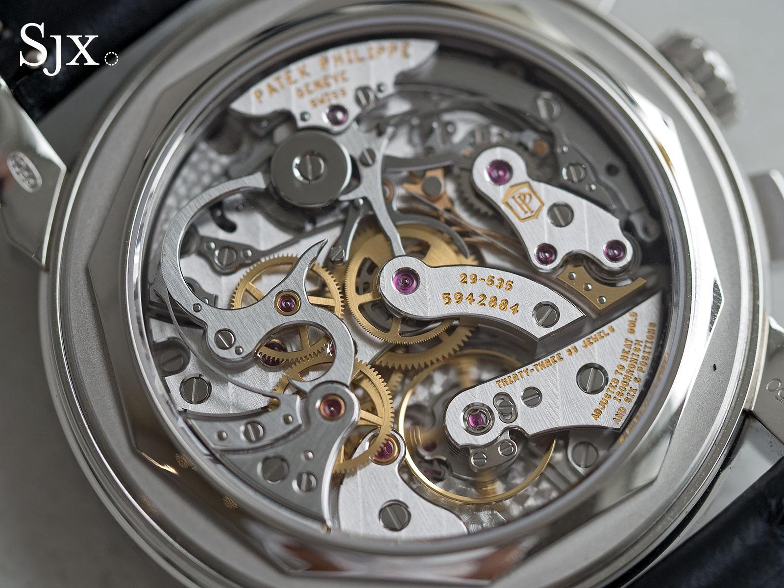 Patek Philippe 5271-11P sapphires 7