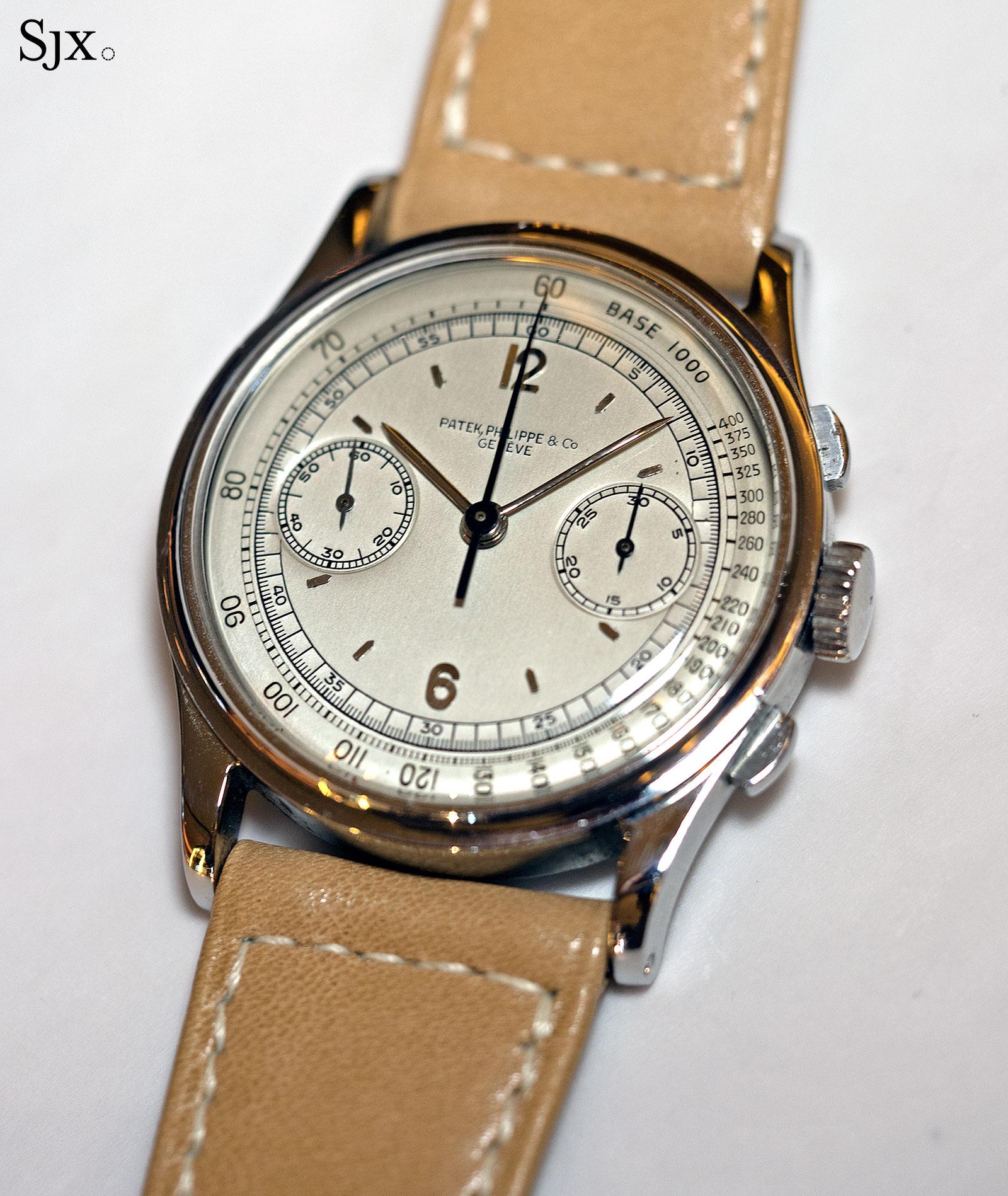Patek Philippe 530 chronograph steel 1