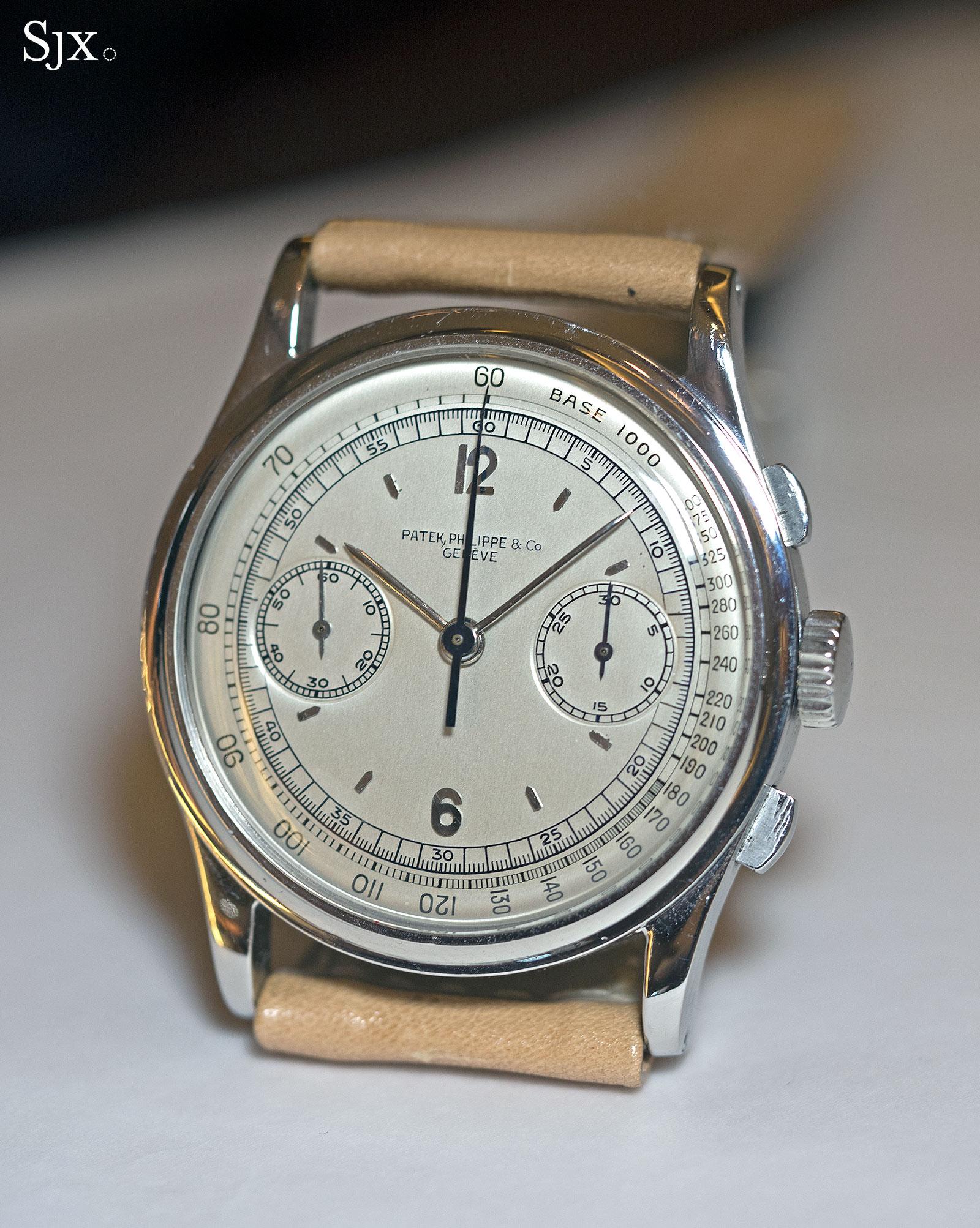 Patek Philippe 530 chronograph steel 4