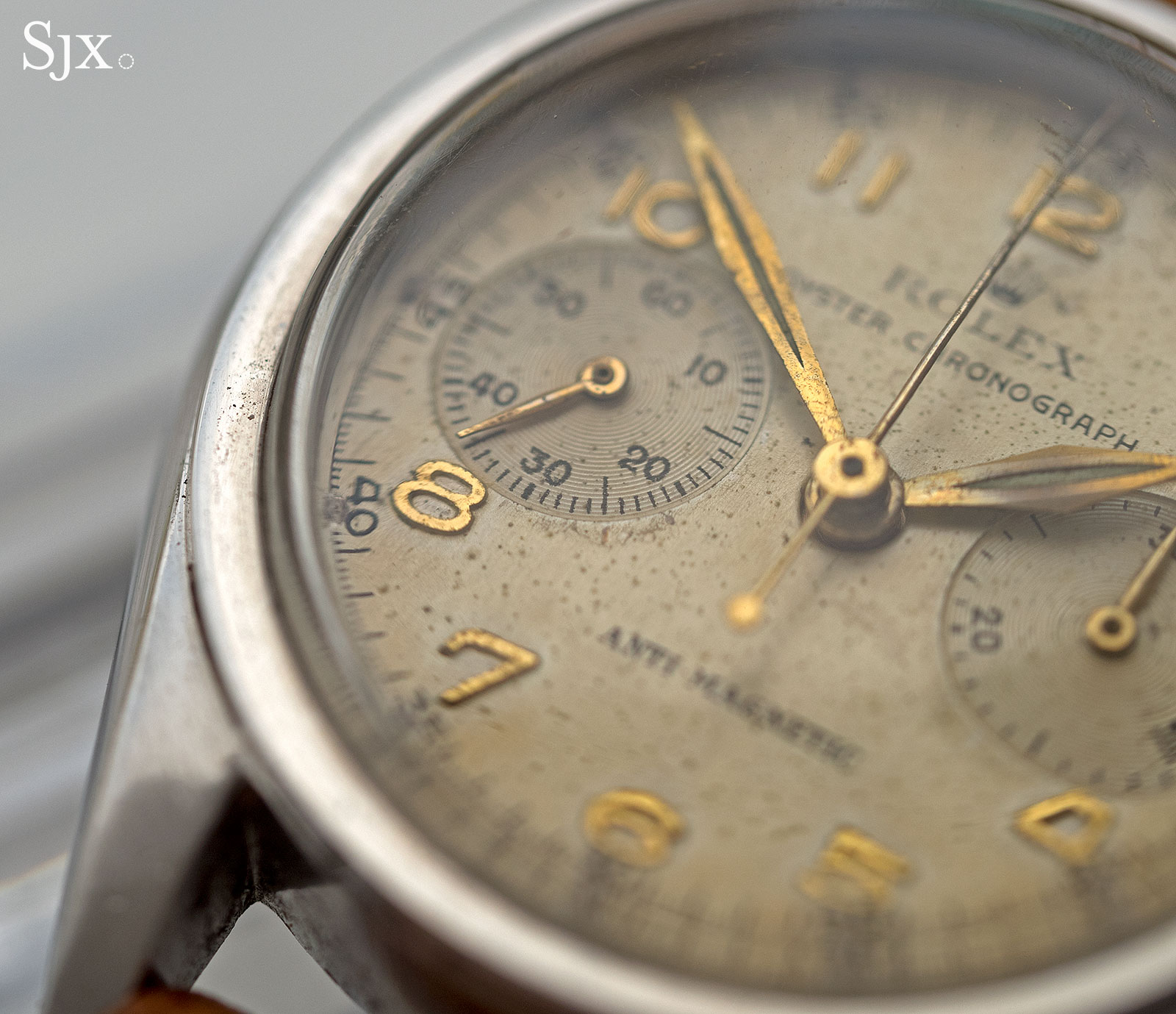 Rolex 3481 chronograph anti-magnetic 3