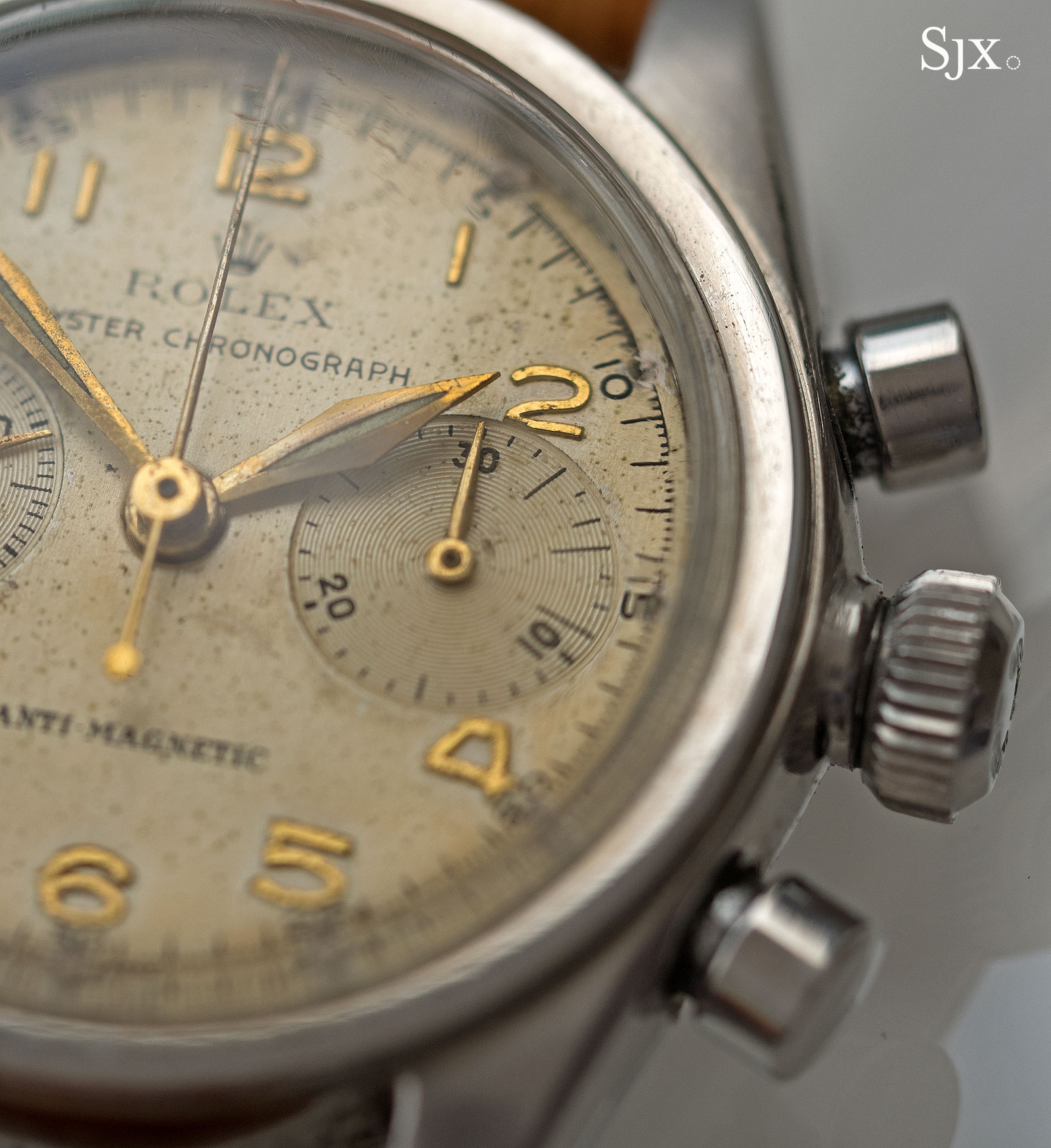 Rolex 3481 chronograph anti-magnetic 7