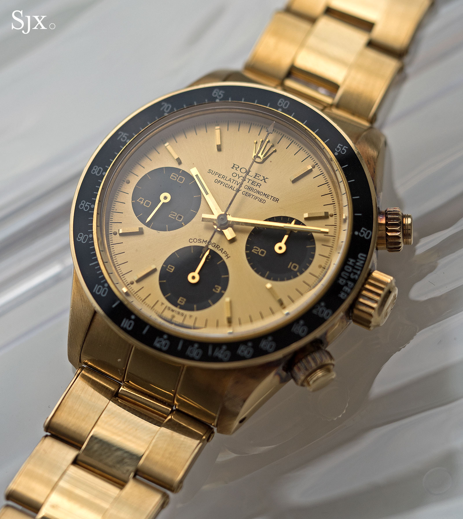 Rolex Daytona 6265 yellow gold 1