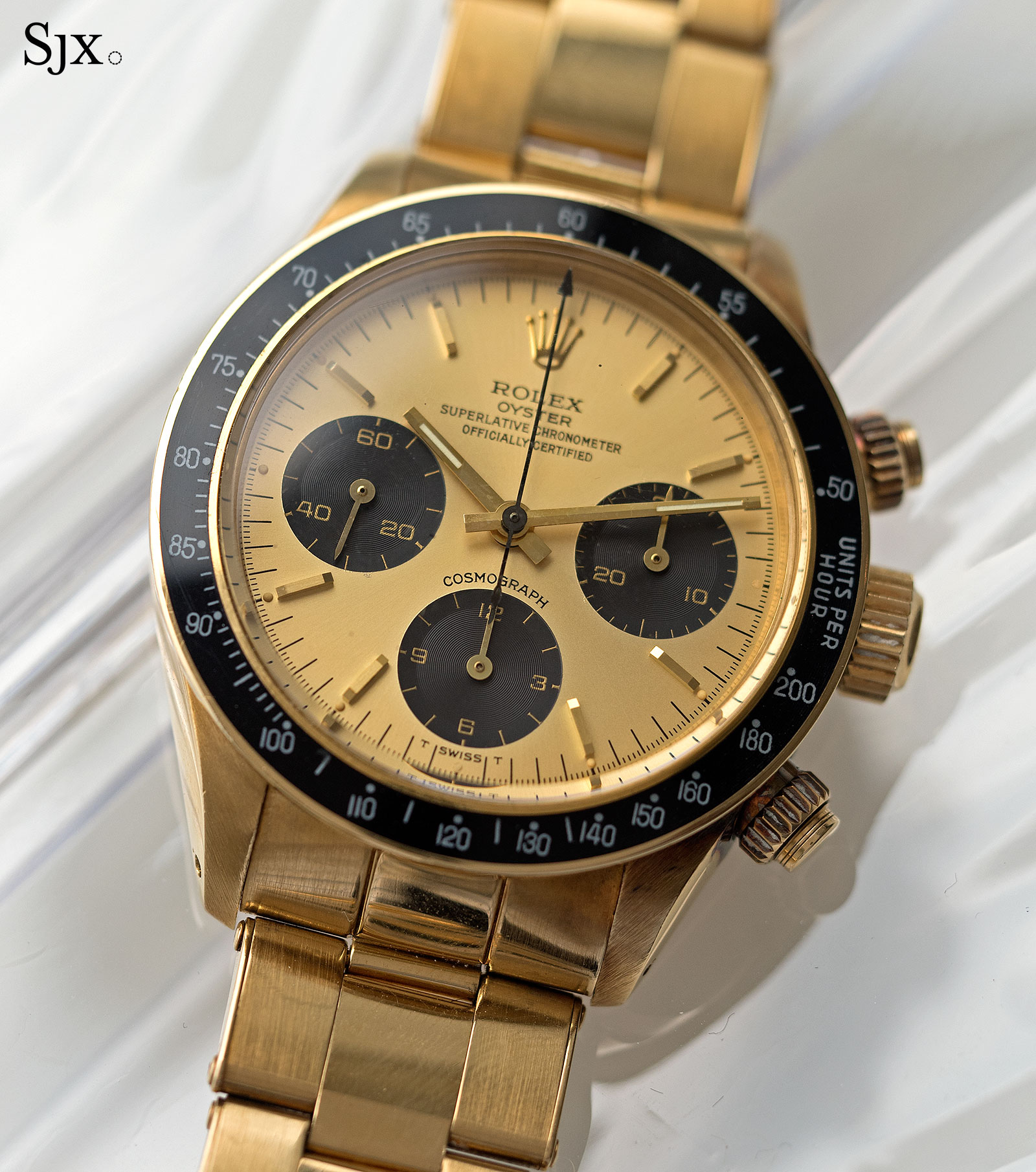 Rolex Daytona 6265 yellow gold 2