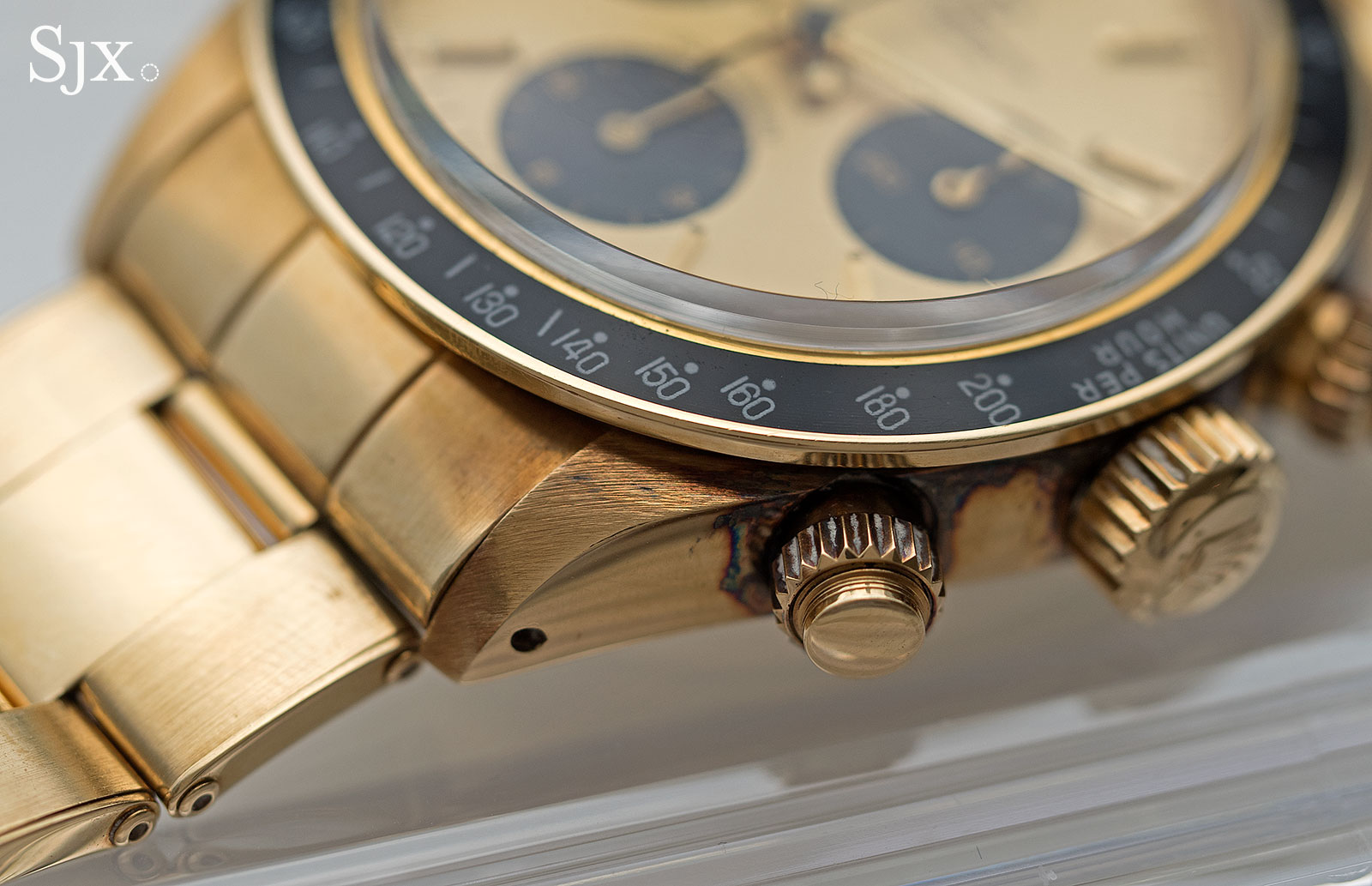 Rolex Daytona 6265 yellow gold 3