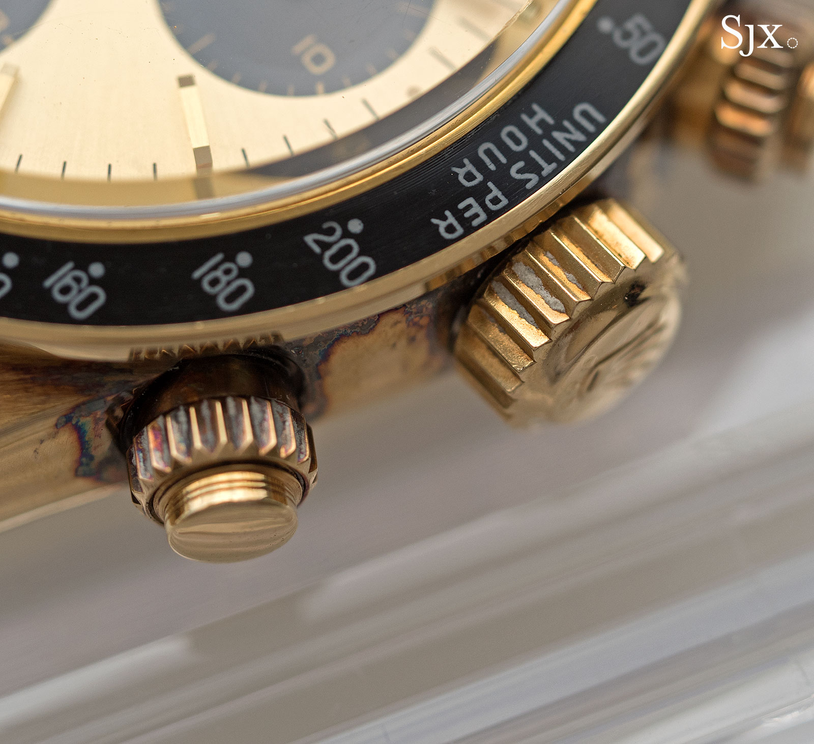 Rolex Daytona 6265 yellow gold 5