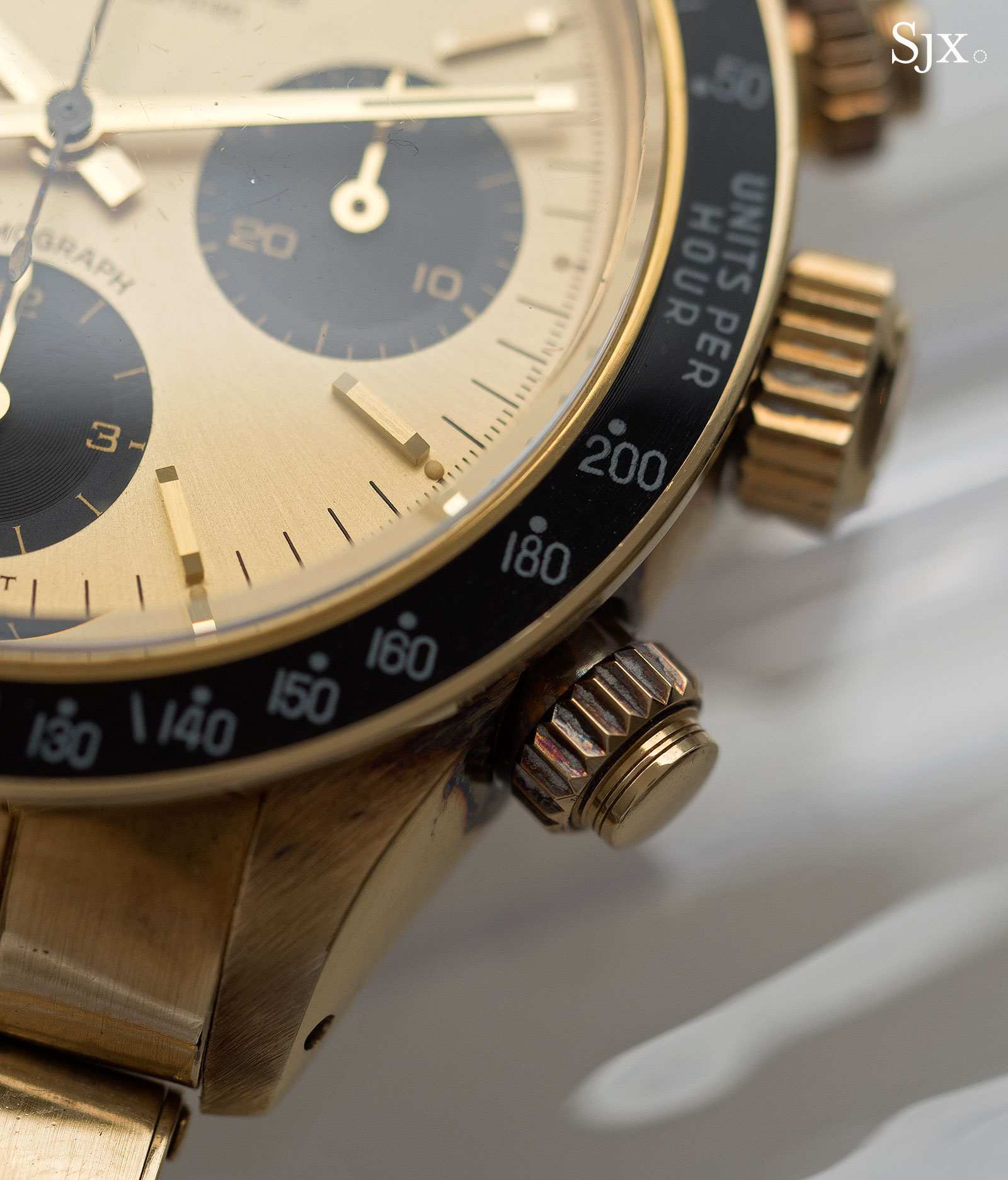 Rolex Daytona 6265 yellow gold 9