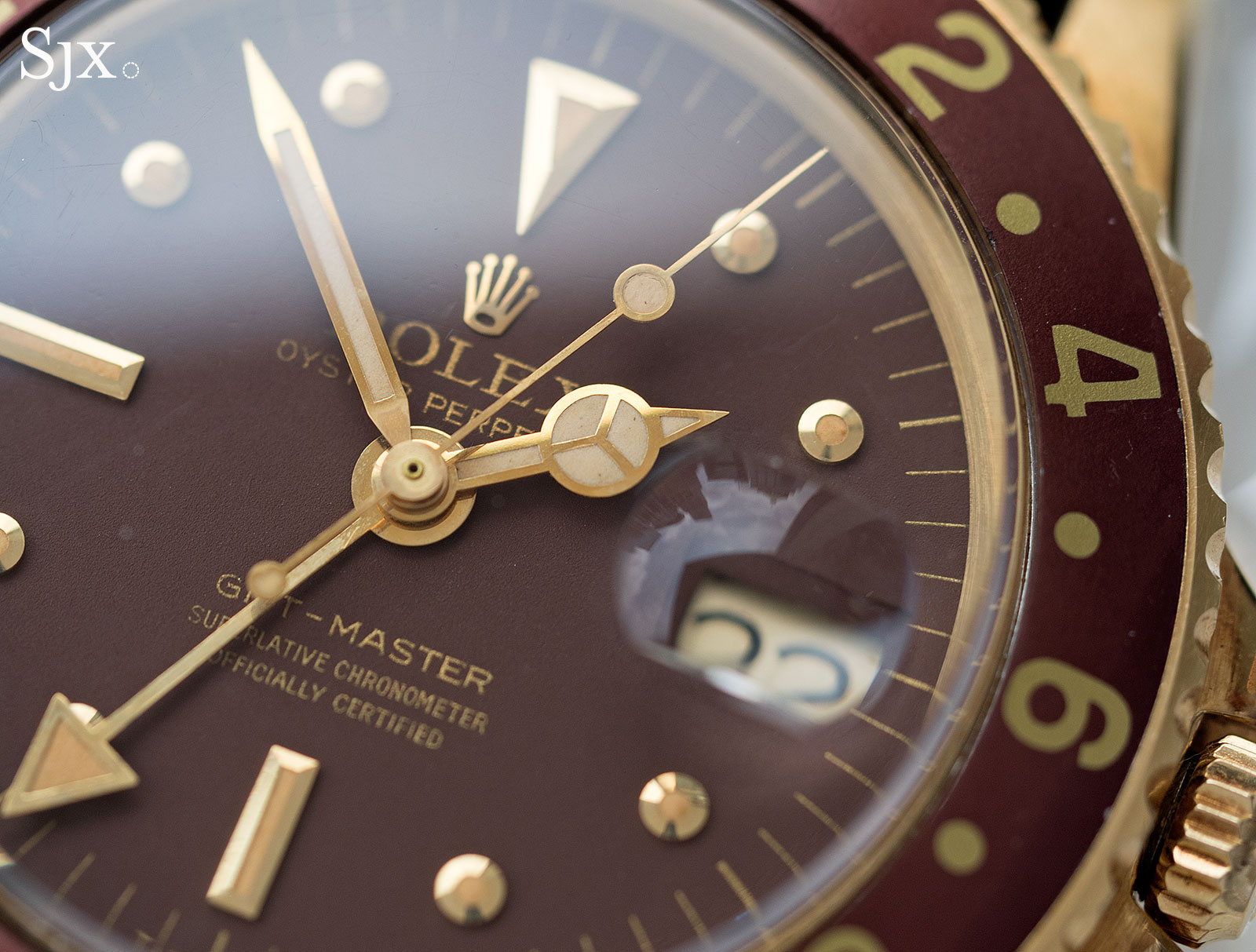 Rolex GMT-Master 1675 18k 8