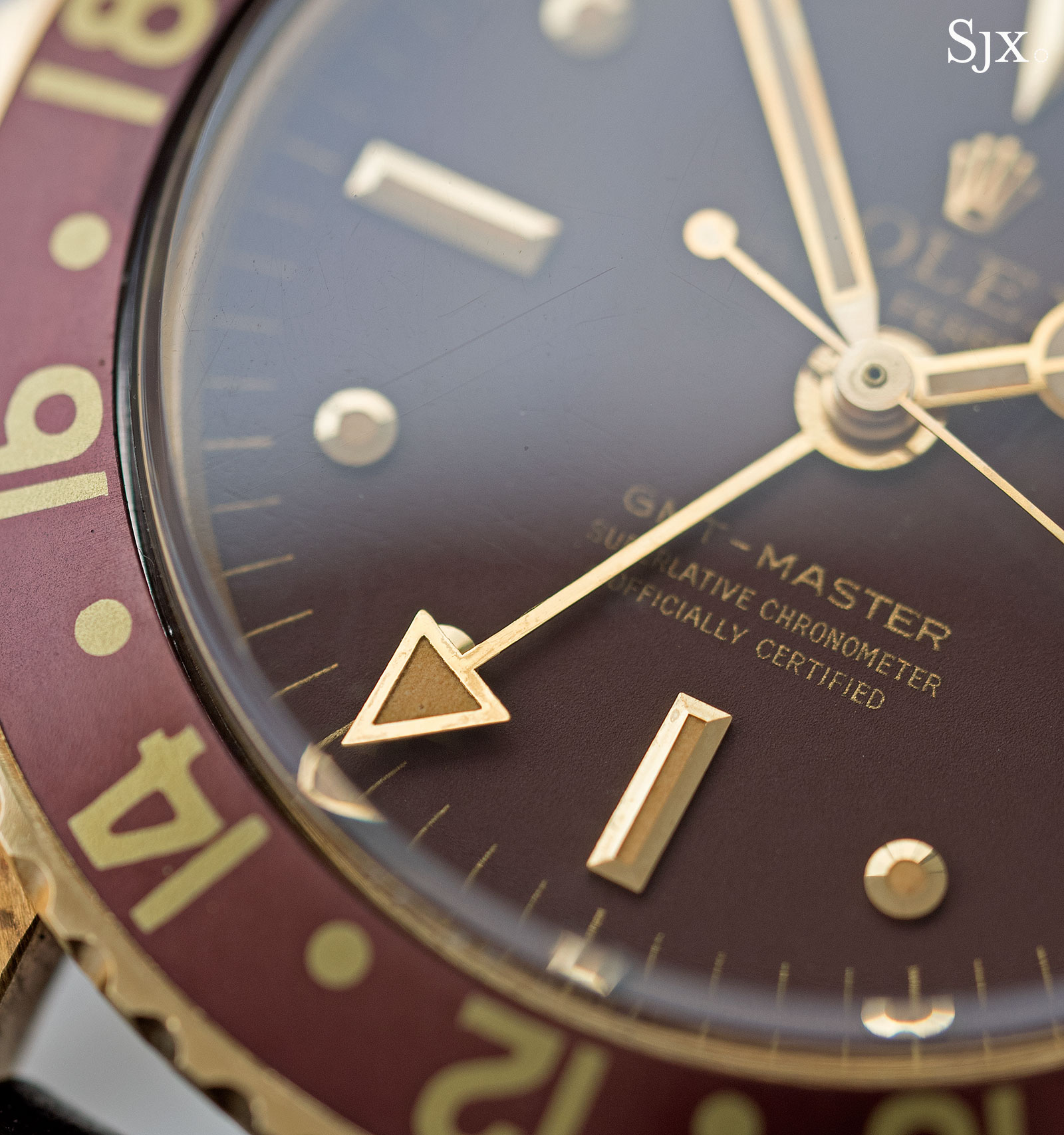 Rolex GMT-Master 1675 18k 9