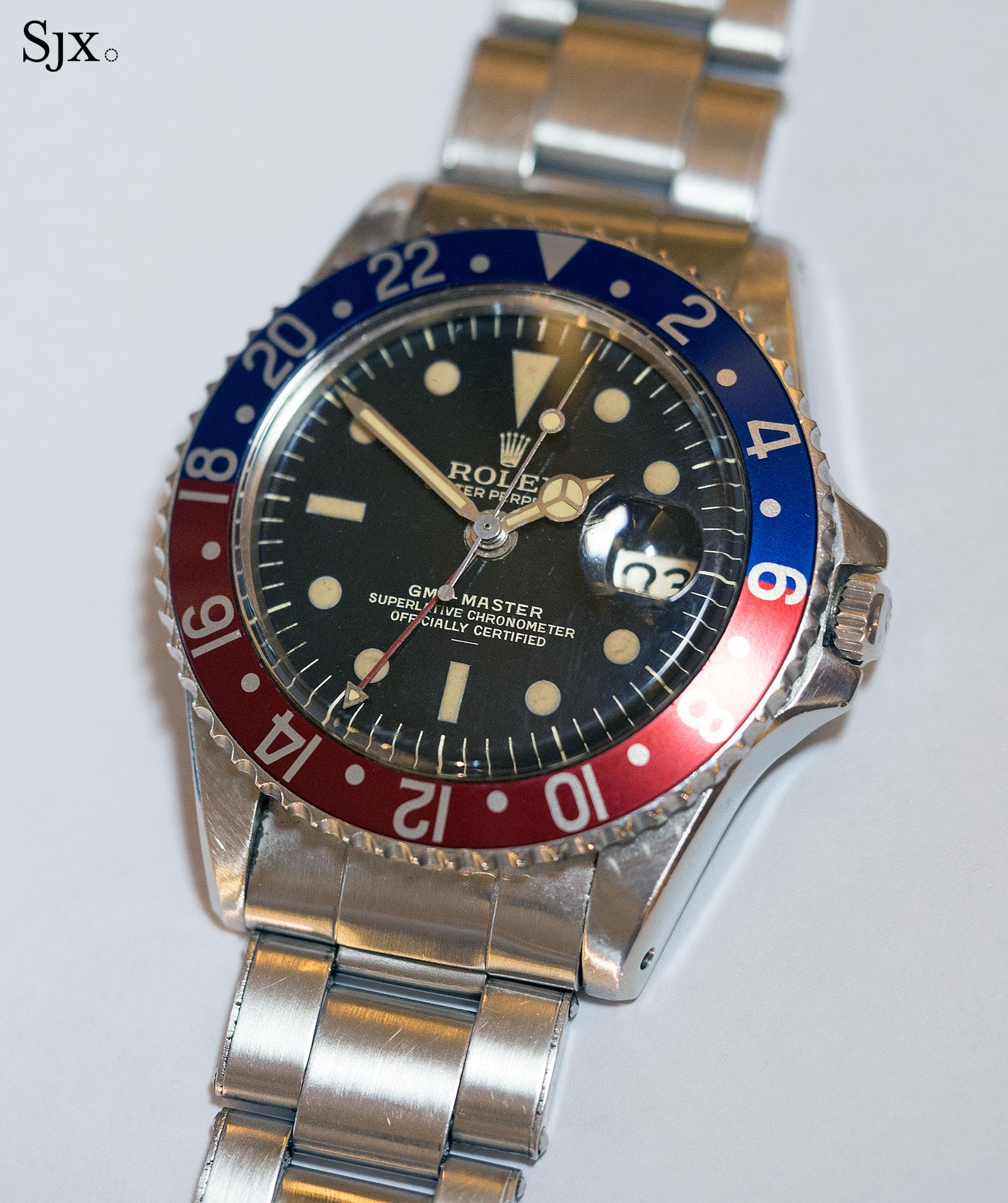 Rolex GMT-Master 1675 underline gilt 1