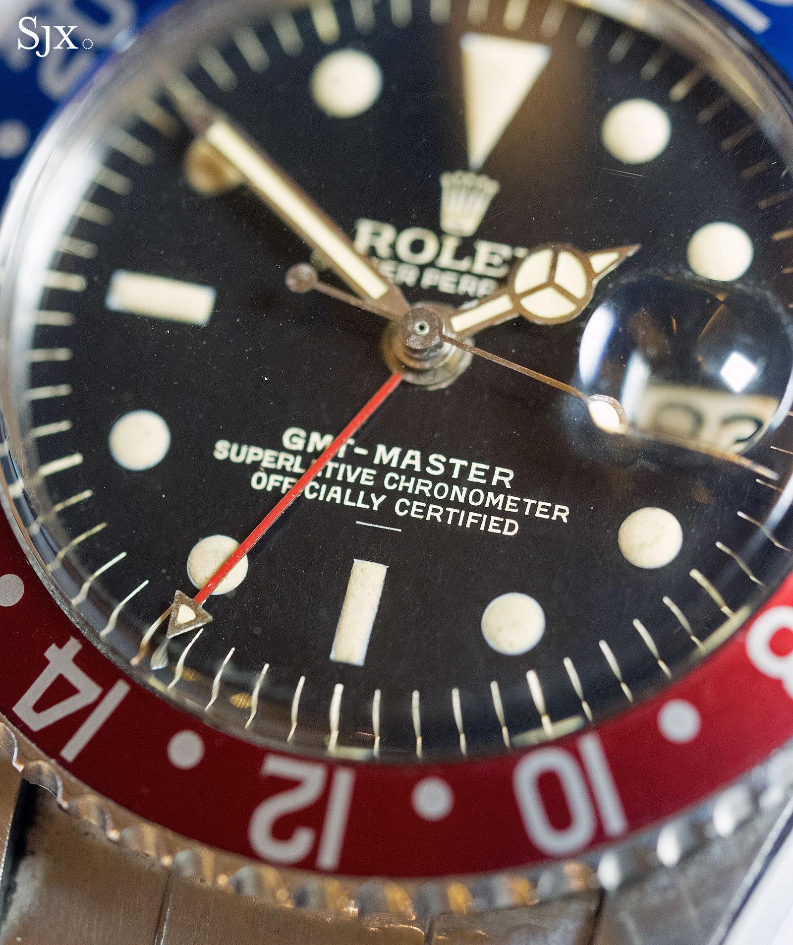 Rolex GMT-Master 1675 underline gilt 2