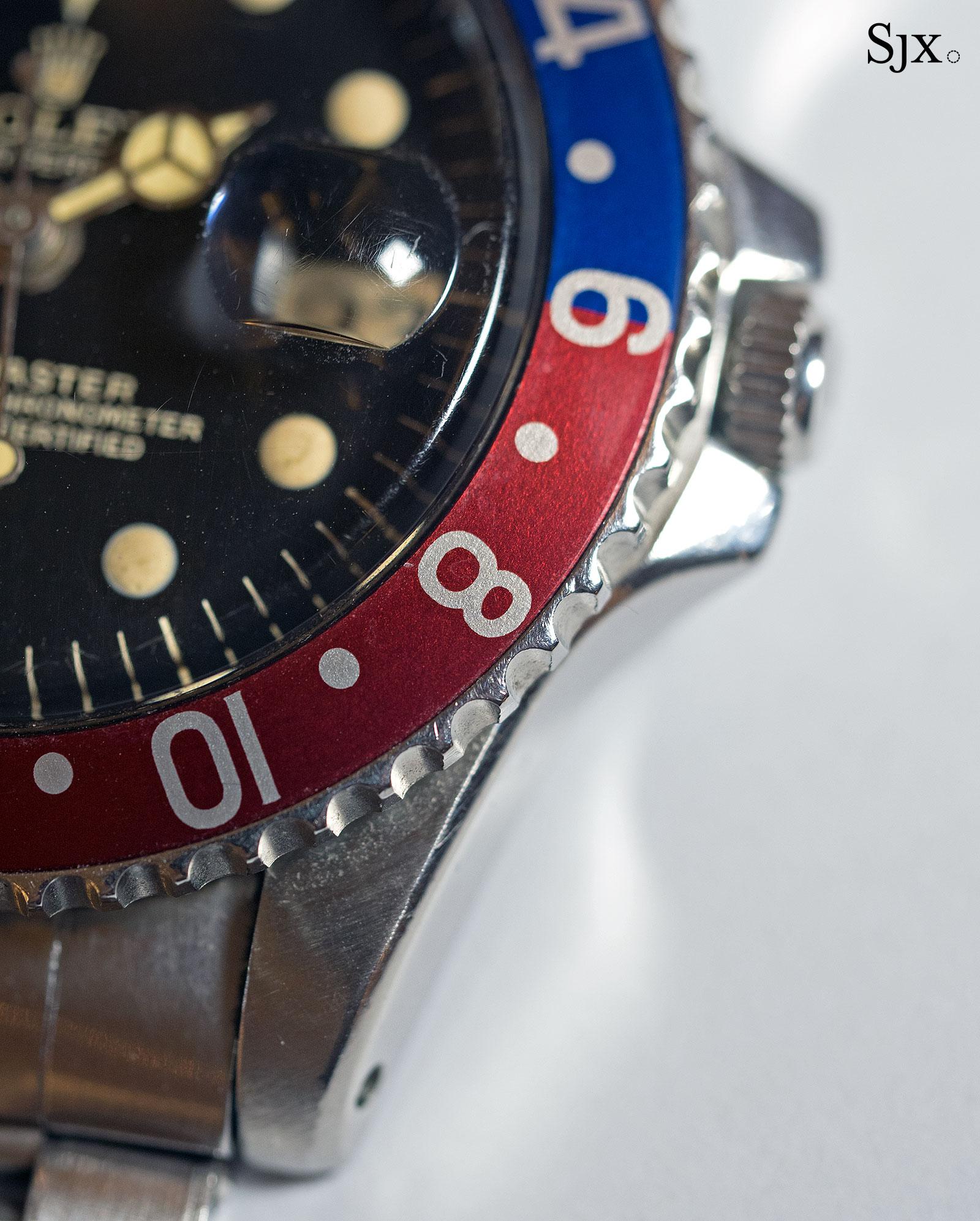 Rolex GMT-Master 1675 underline gilt 3
