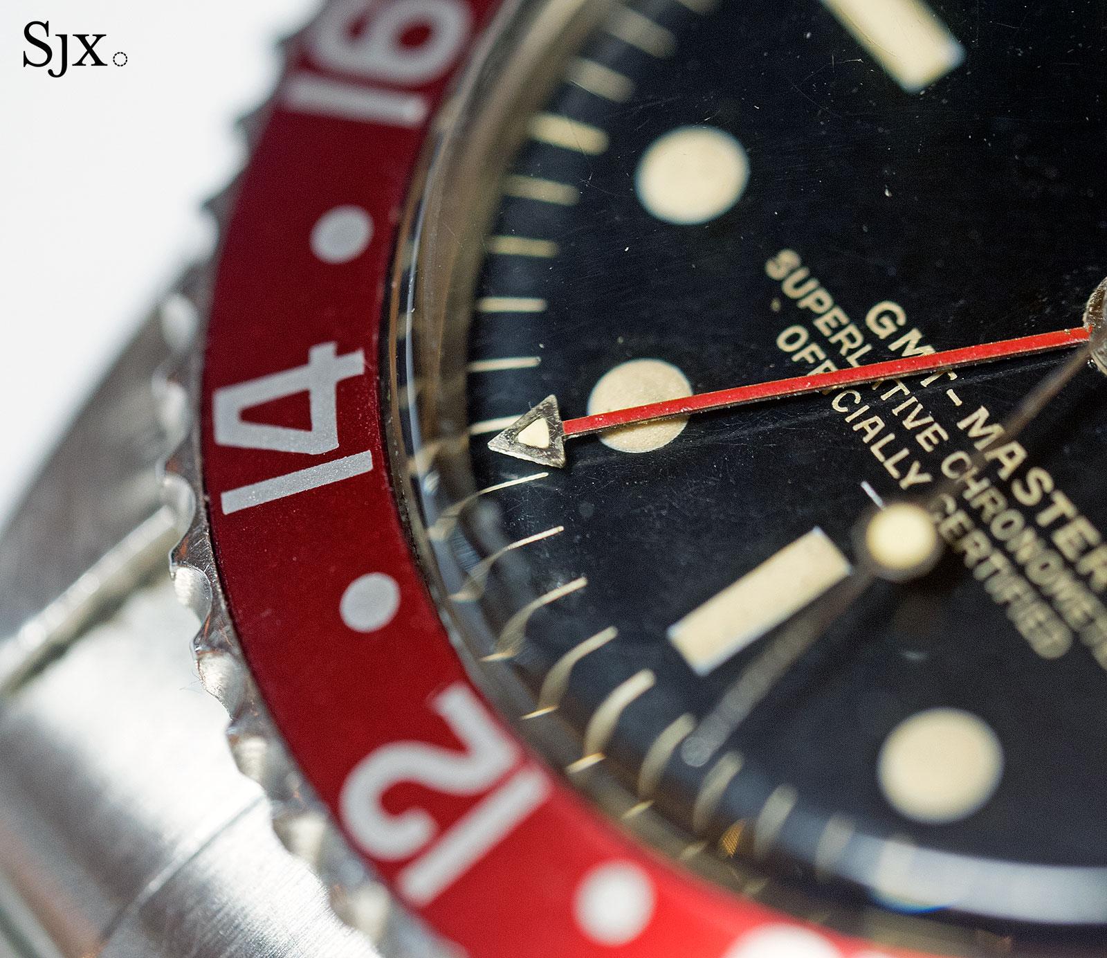 Rolex GMT-Master 1675 underline gilt 5
