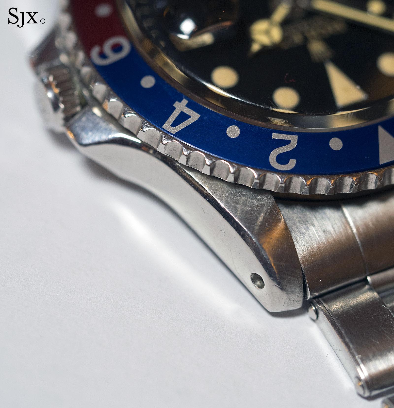 Rolex GMT-Master 1675 underline gilt 6