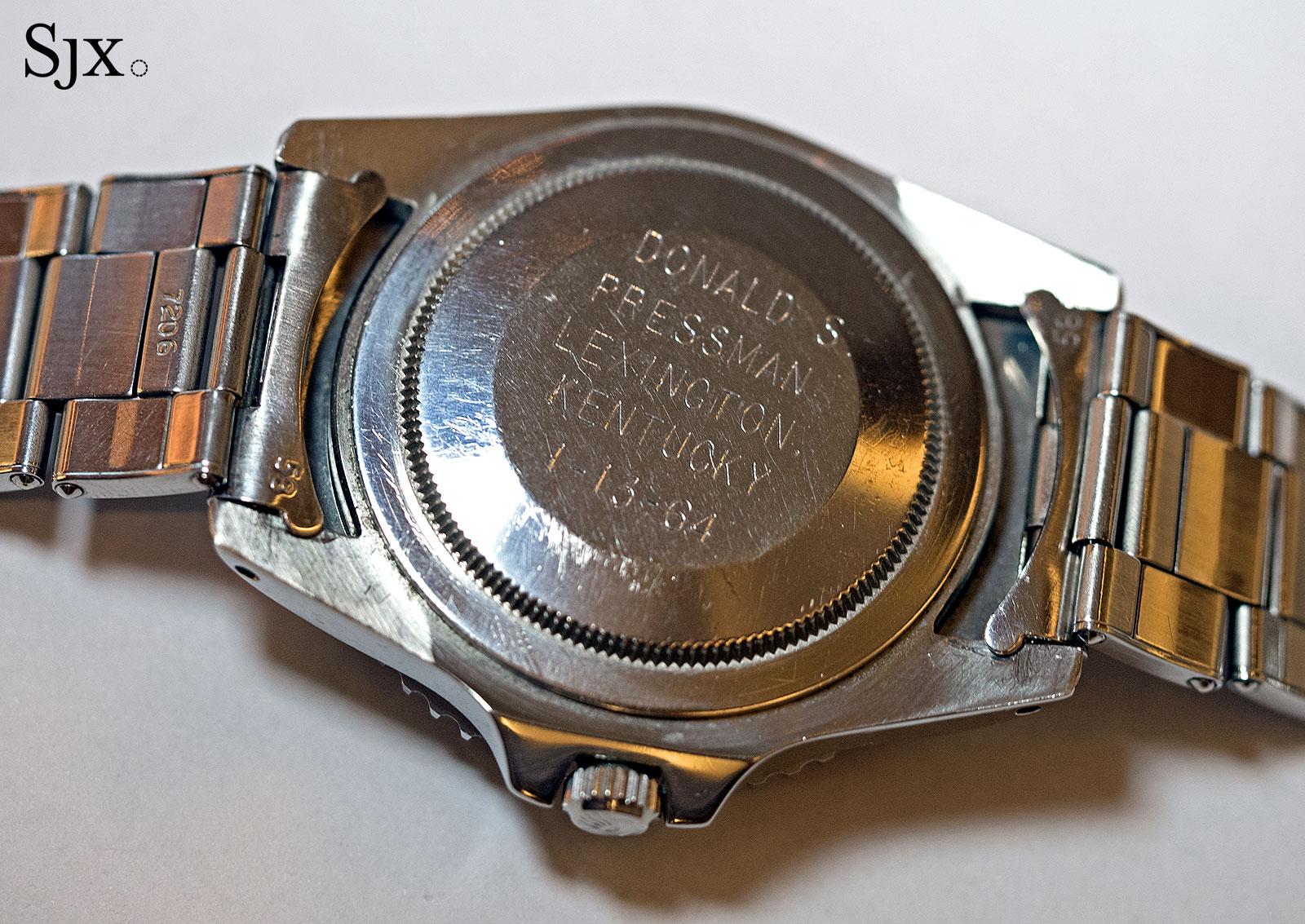 Rolex GMT-Master 1675 underline gilt 7