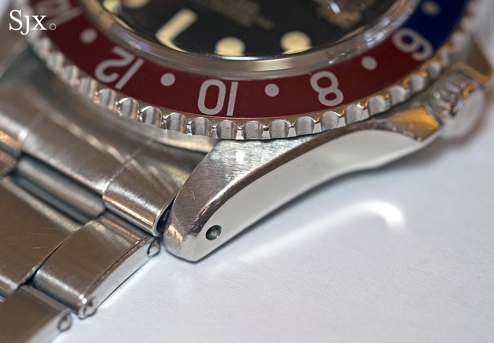 Rolex GMT-Master 1675 underline gilt 8