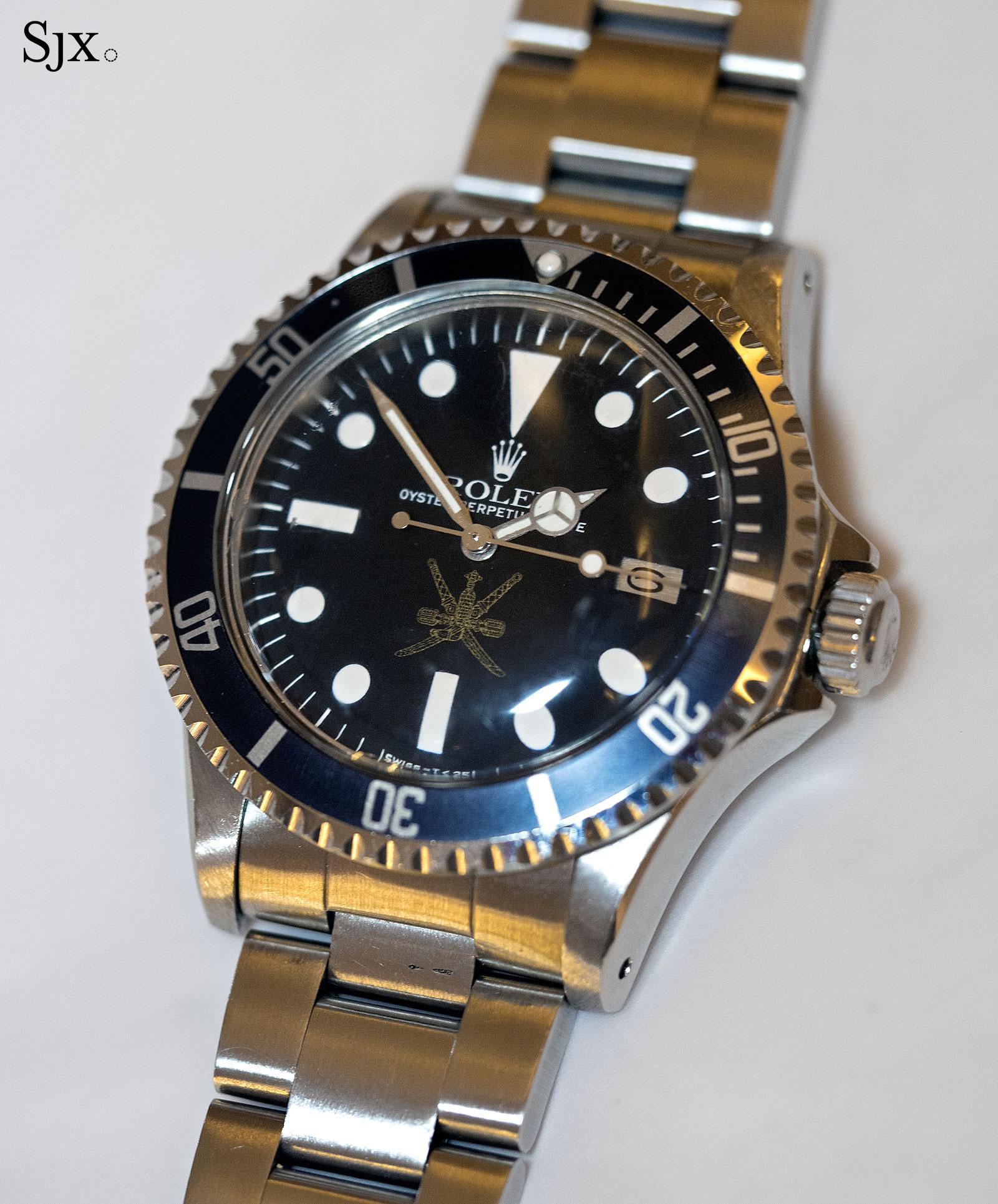 Rolex Sea-Dweller 1665 Golden Khanjar 1
