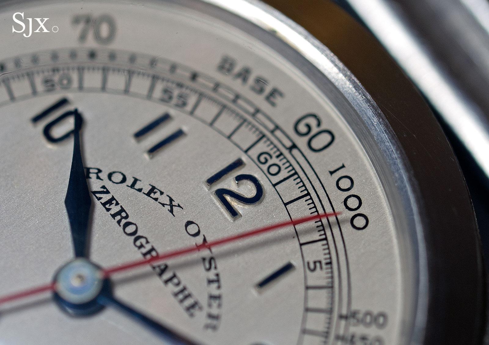 Rolex Zerographe 3890 tachymetre 5