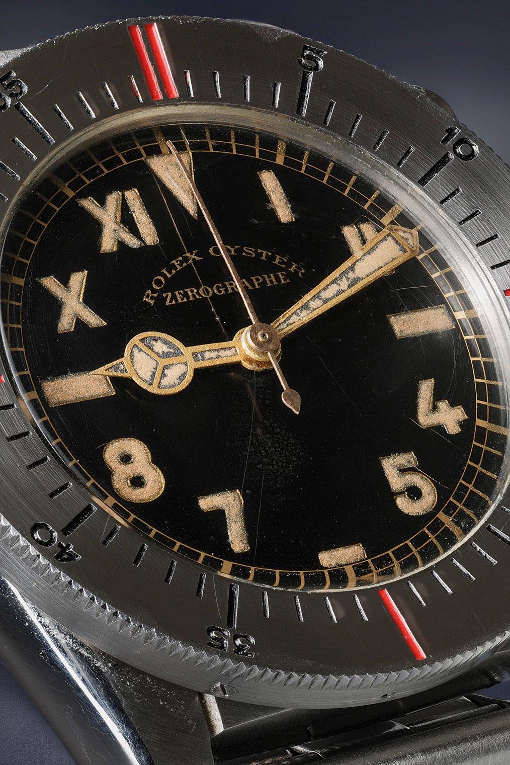 Rolex Zerographe california dial