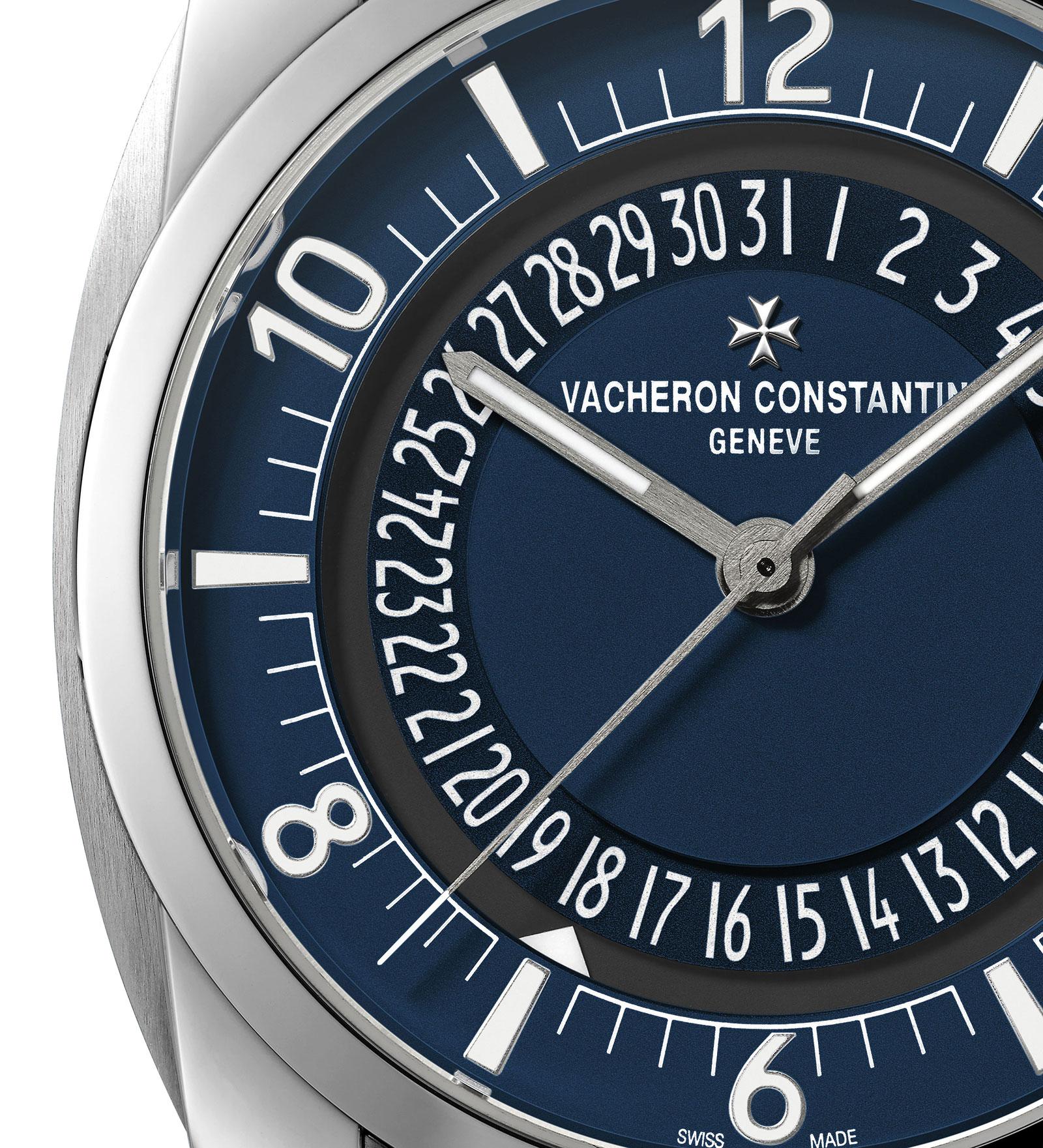 Vacheron Constantin Quai de l'Ile steel blue dial 1