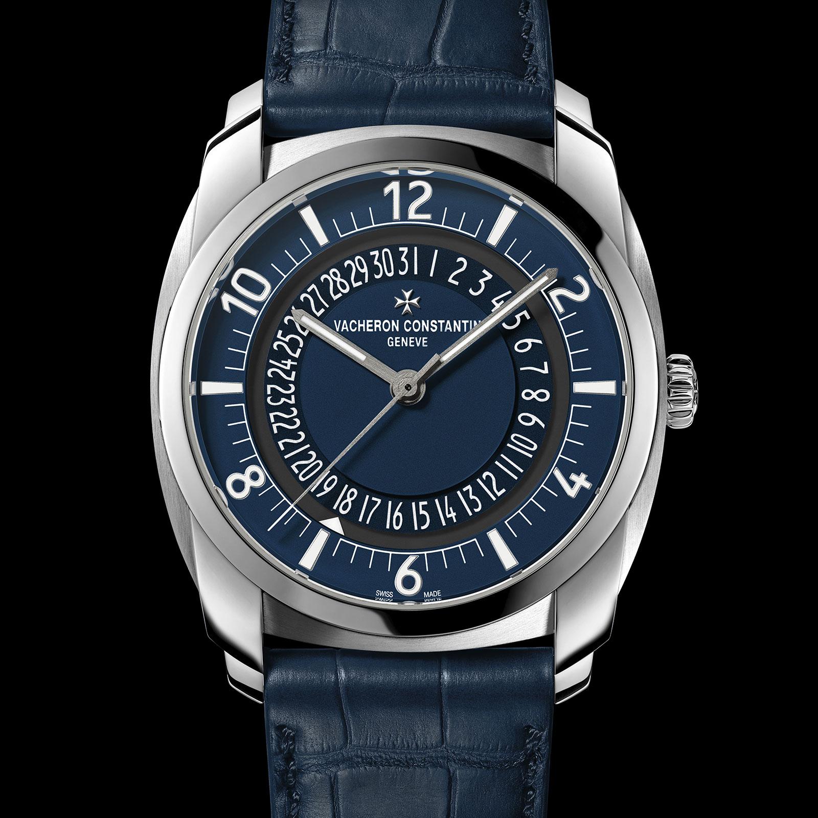 Vacheron Constantin Quai de l'Ile steel blue dial 2