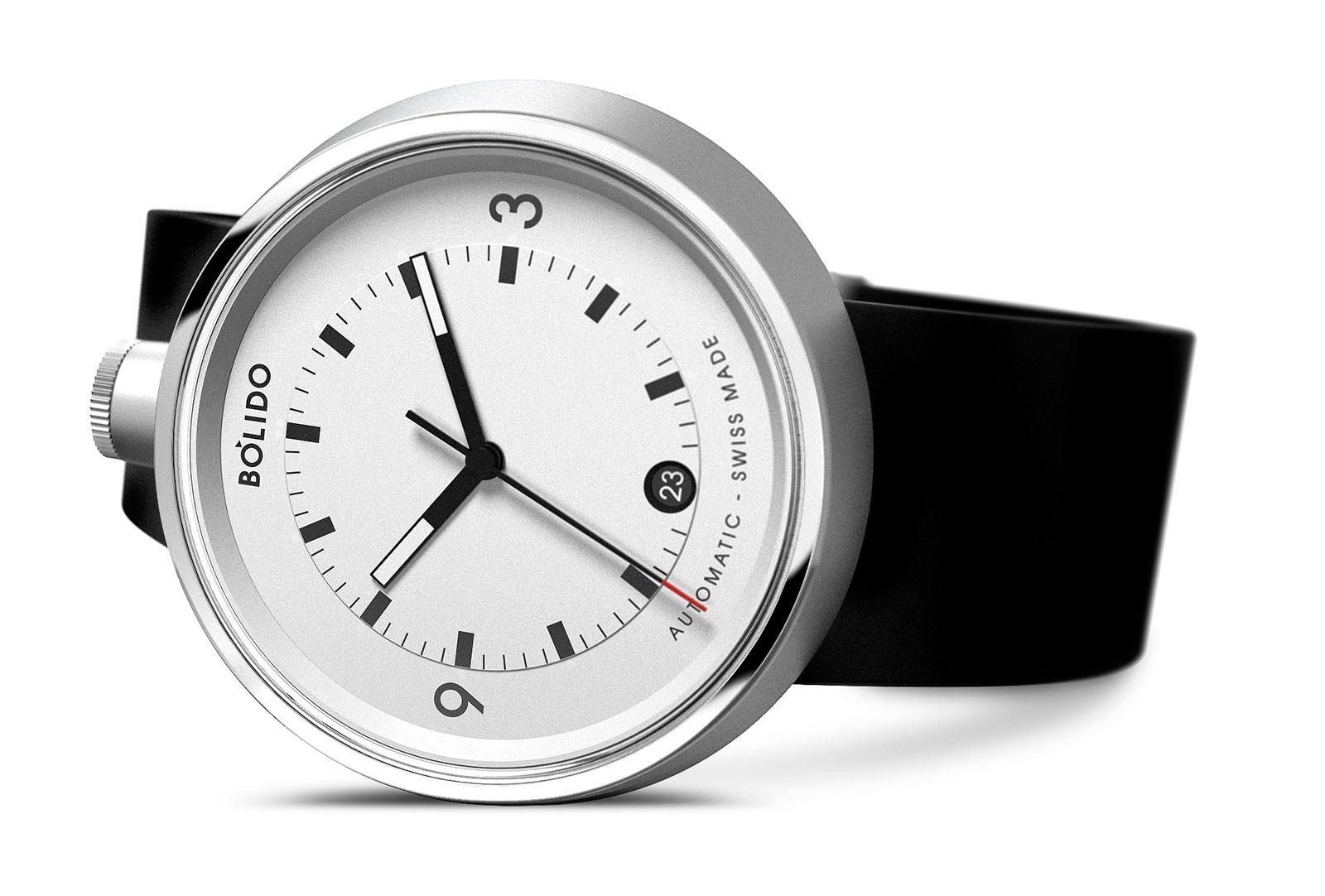 Bolido autoamtic watch Pierre Nobs 1