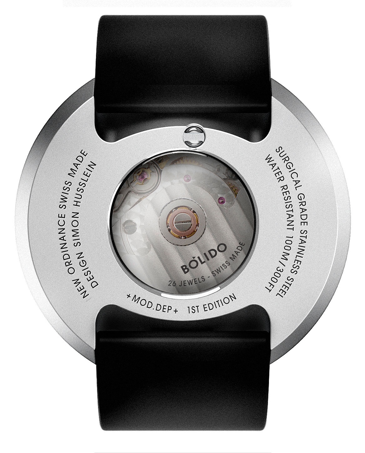 Bolido autoamtic watch Pierre Nobs 3