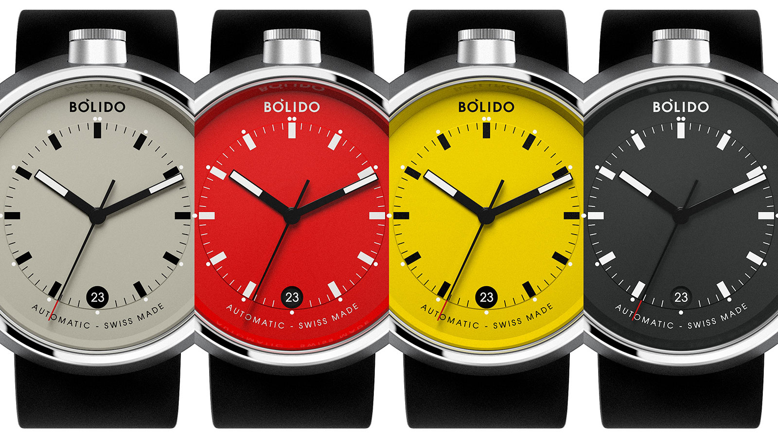 Bolido autoamtic watch Pierre Nobs 6