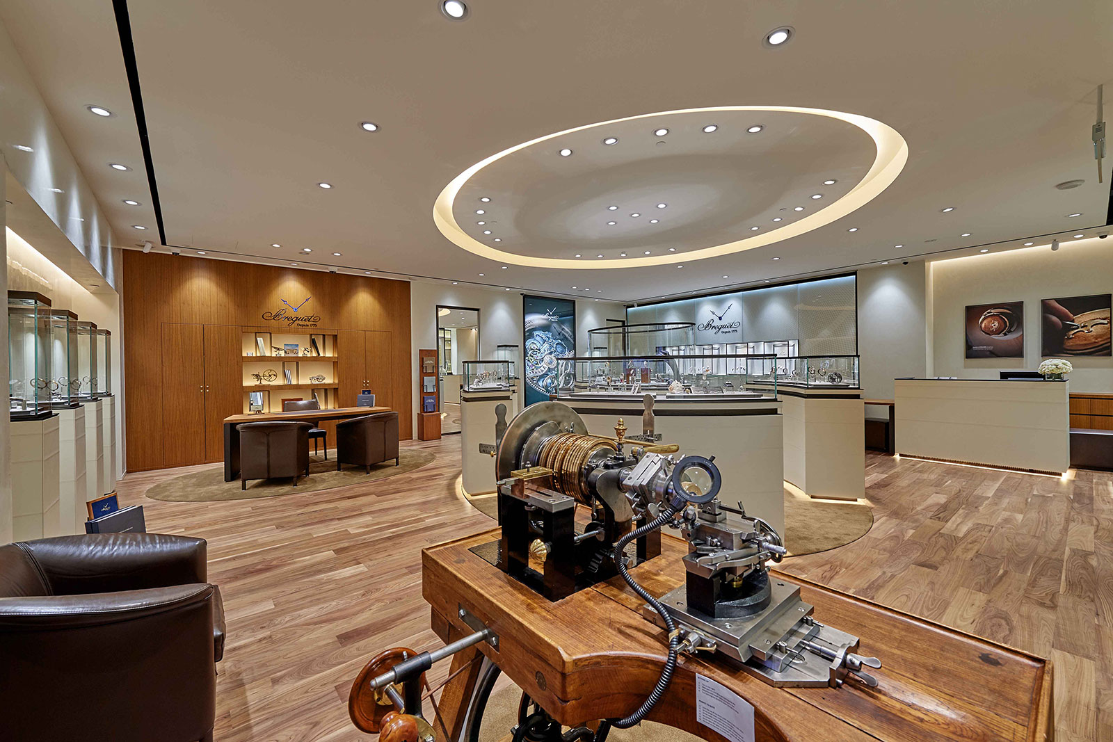 Breguet Marina Bay Sands boutique singapore 2