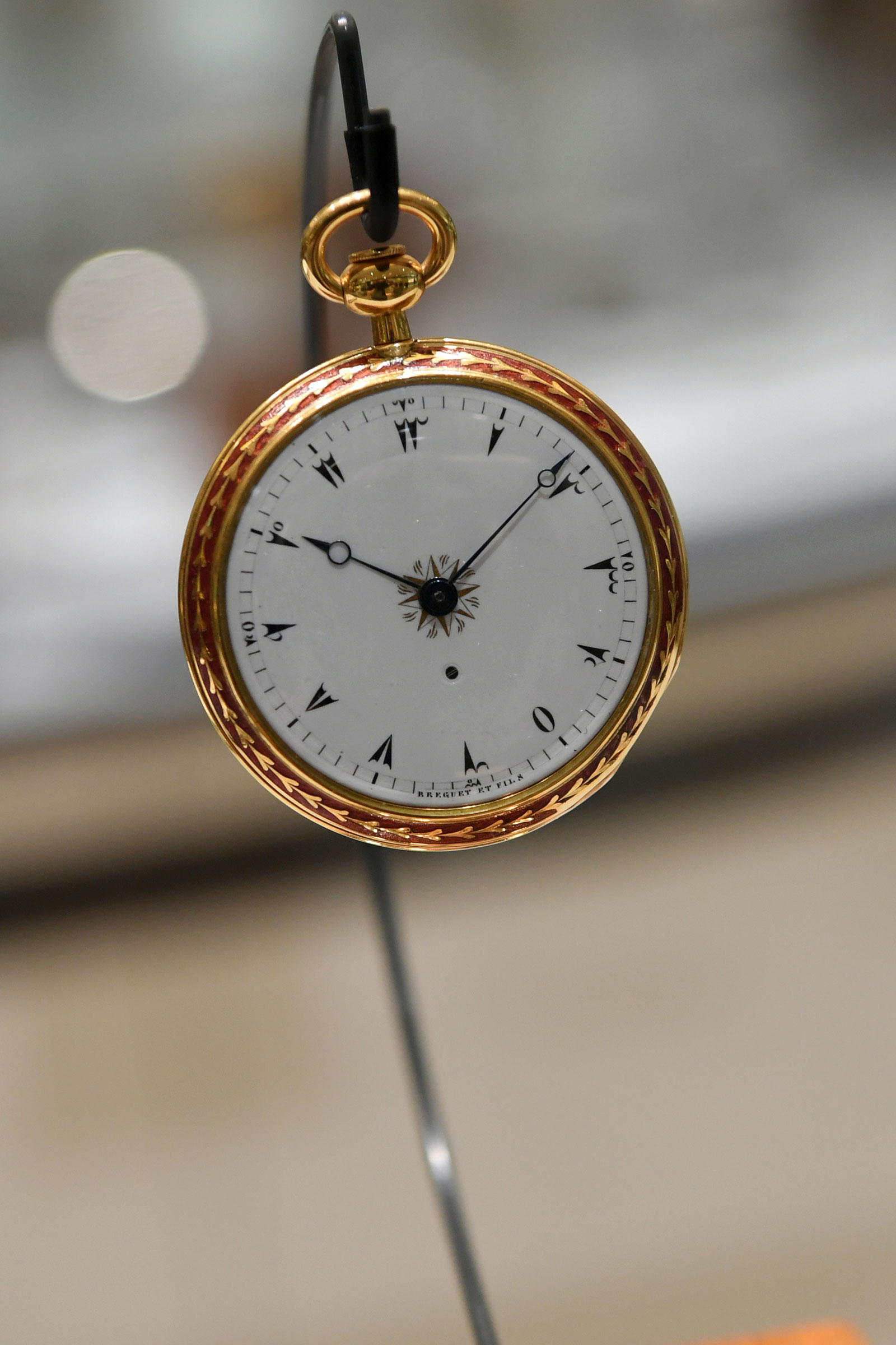 Breguet Turkish pocket watch no. 2952 dial