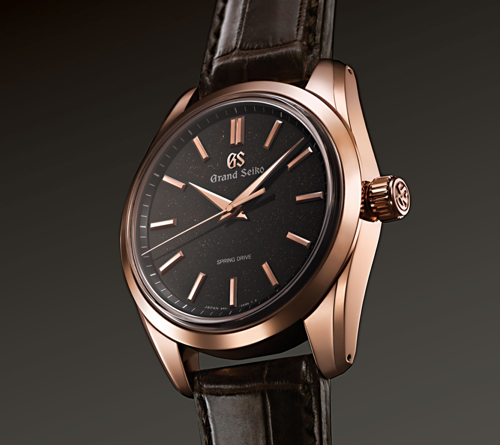 Grand Seiko 8 Day Power Reserve SBGD202 rose gold 2