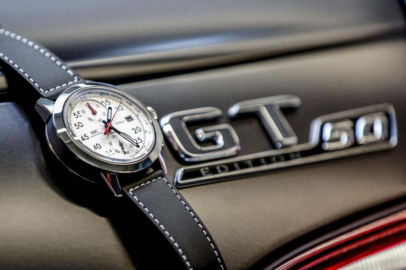 IWC Ingenieur Chronograph 50th Anniversary Mercedes-AMG 4