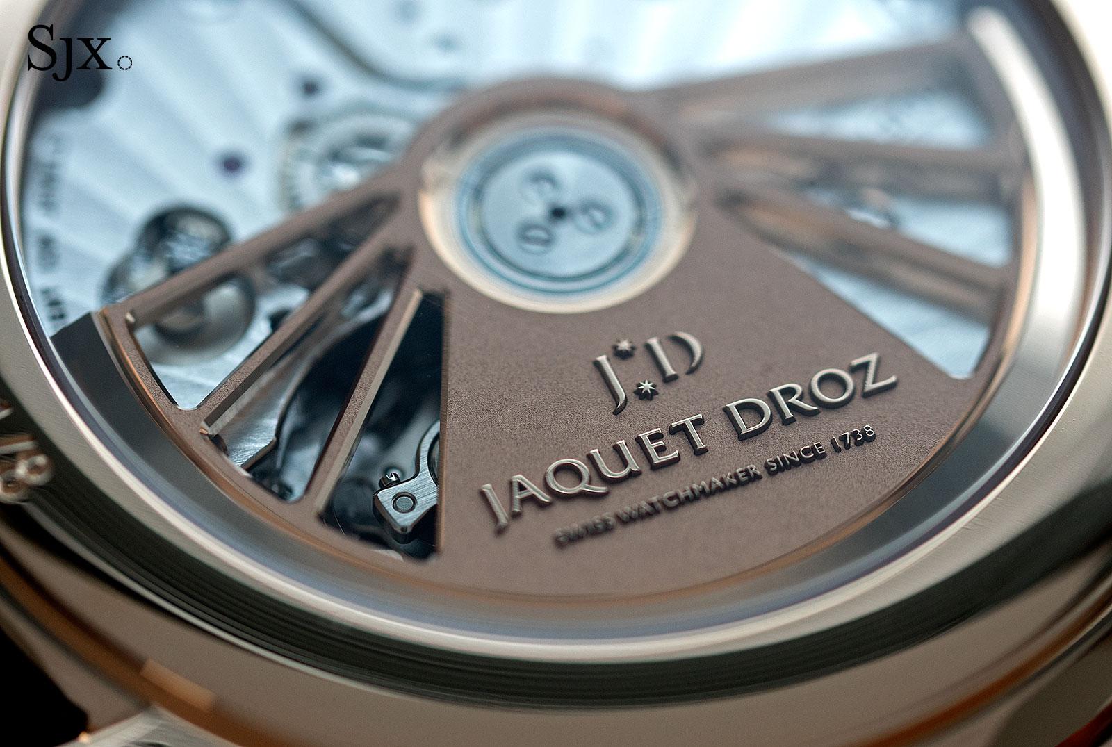 Jaquet Droz Petite Heure Minute Paillonnée 14