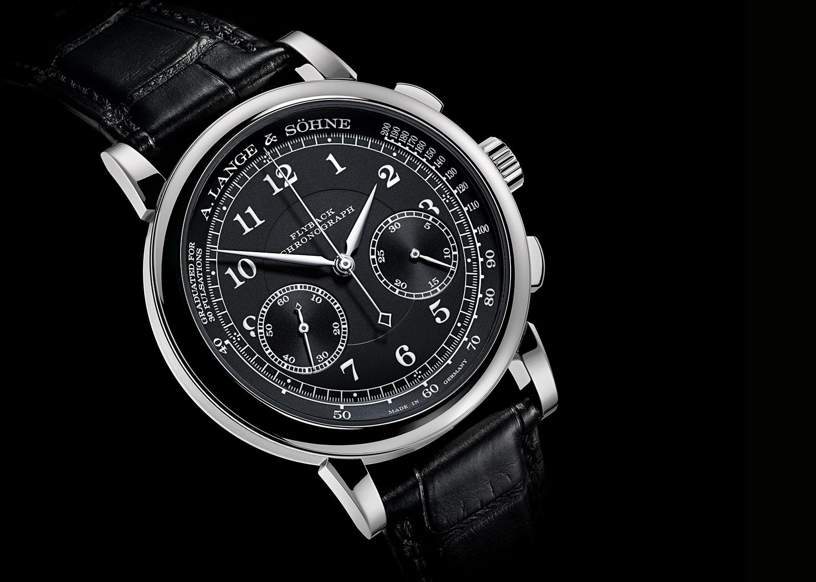 Lange 1815 Chronograph black dial 4