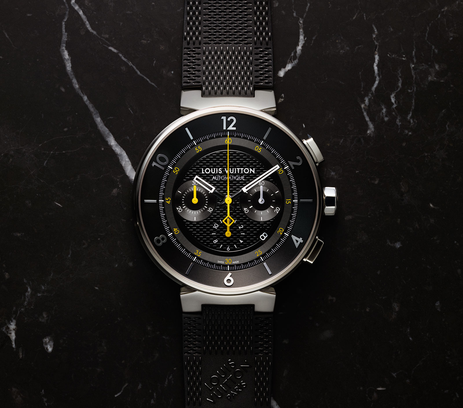 Louis Vuitton Tambour-Moon-Chronograph