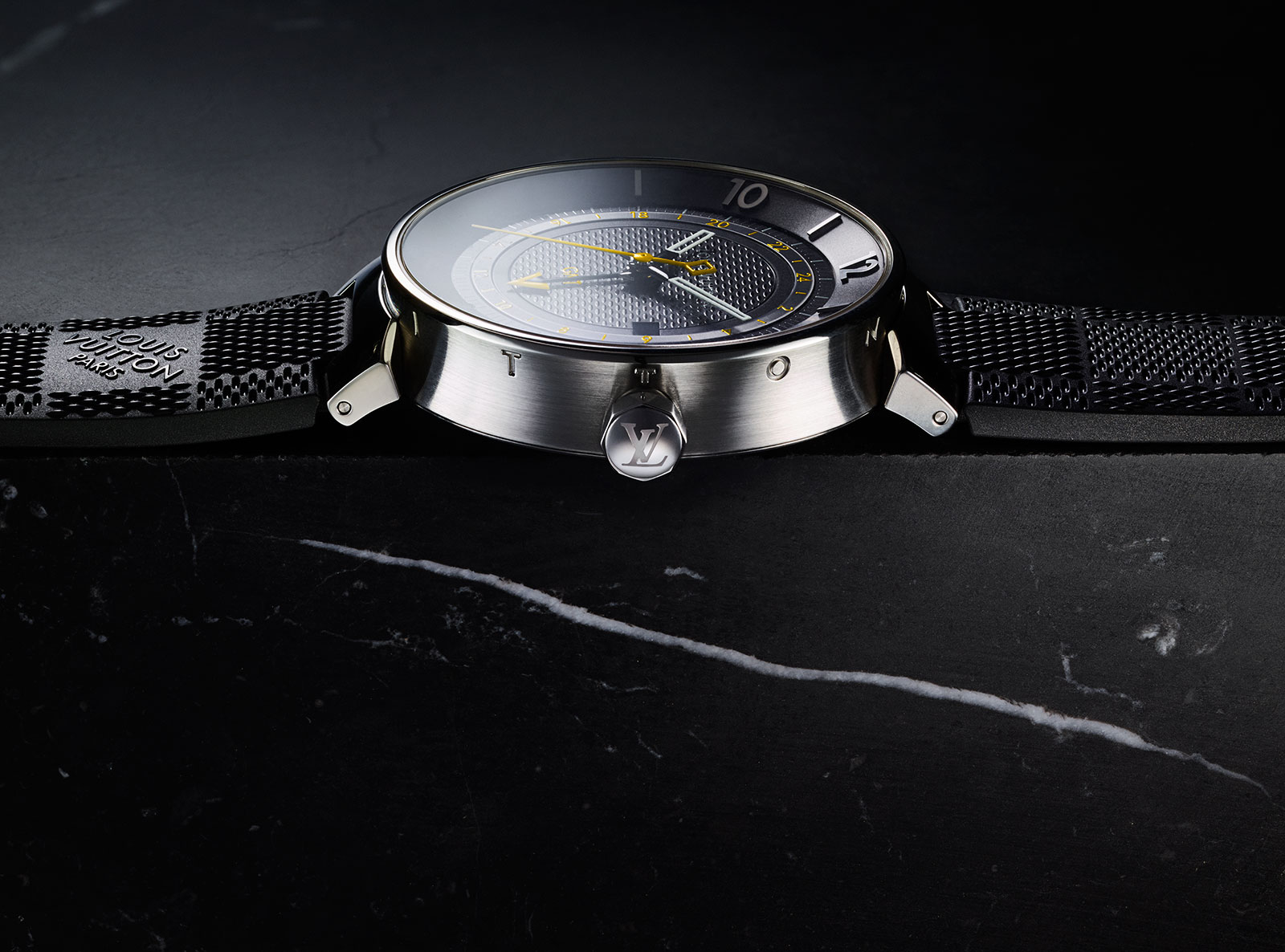 Louis Vuitton Tambour Moon GMT