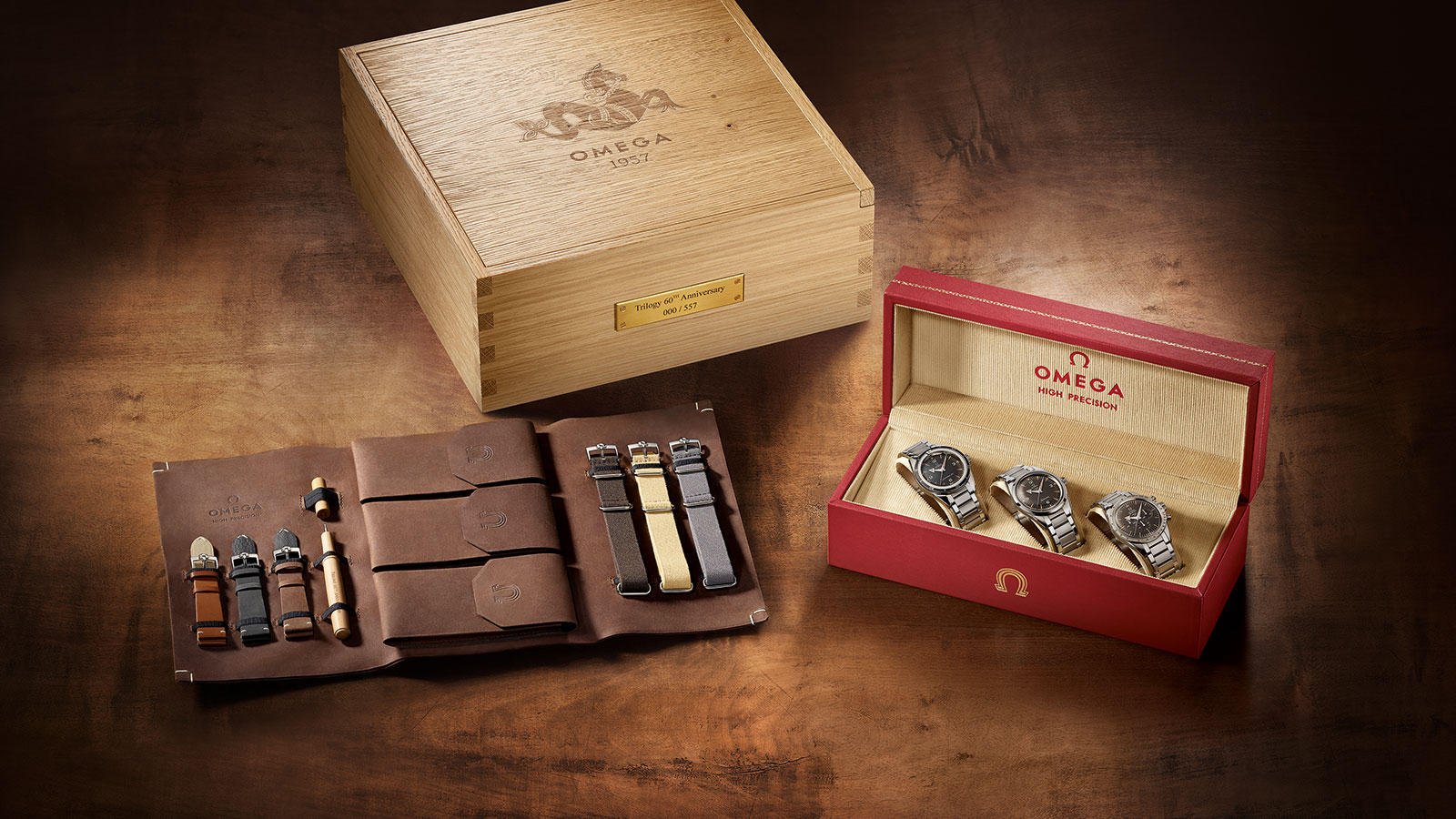 Omega 1957 Trilogy box set