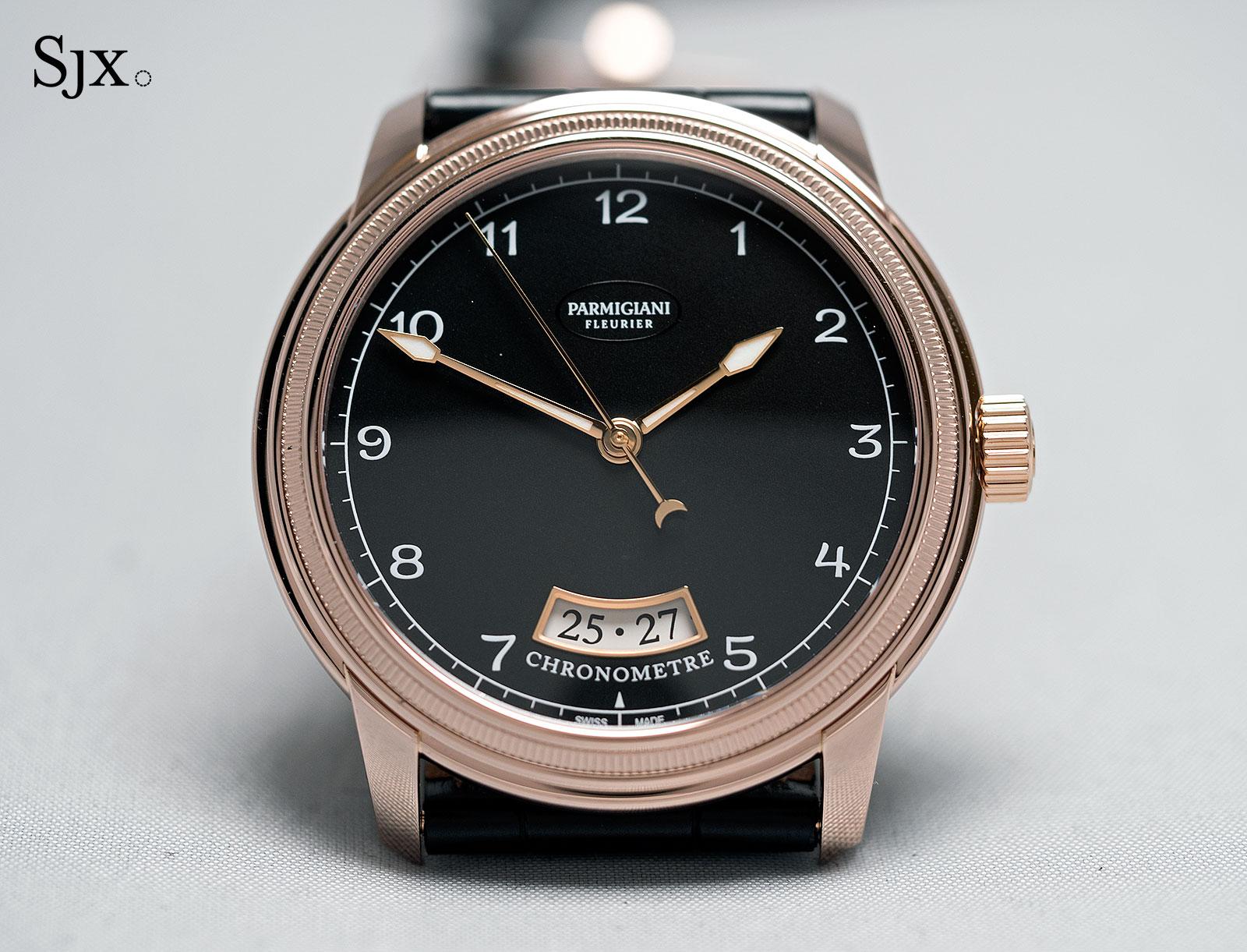 Parmigiani Toric Chronometre red gold 1