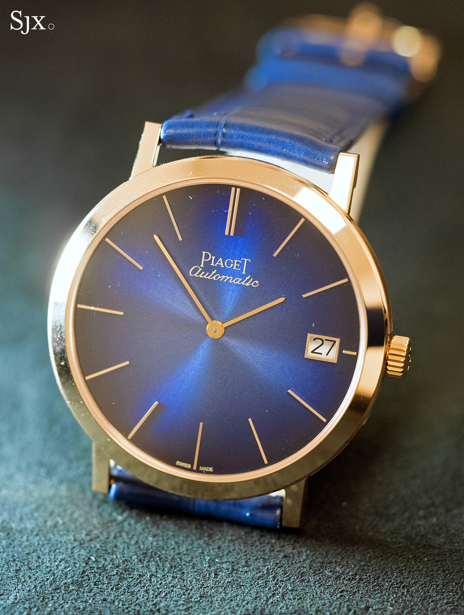 Piaget Altiplano 60th Anniversary 40mm blue 3