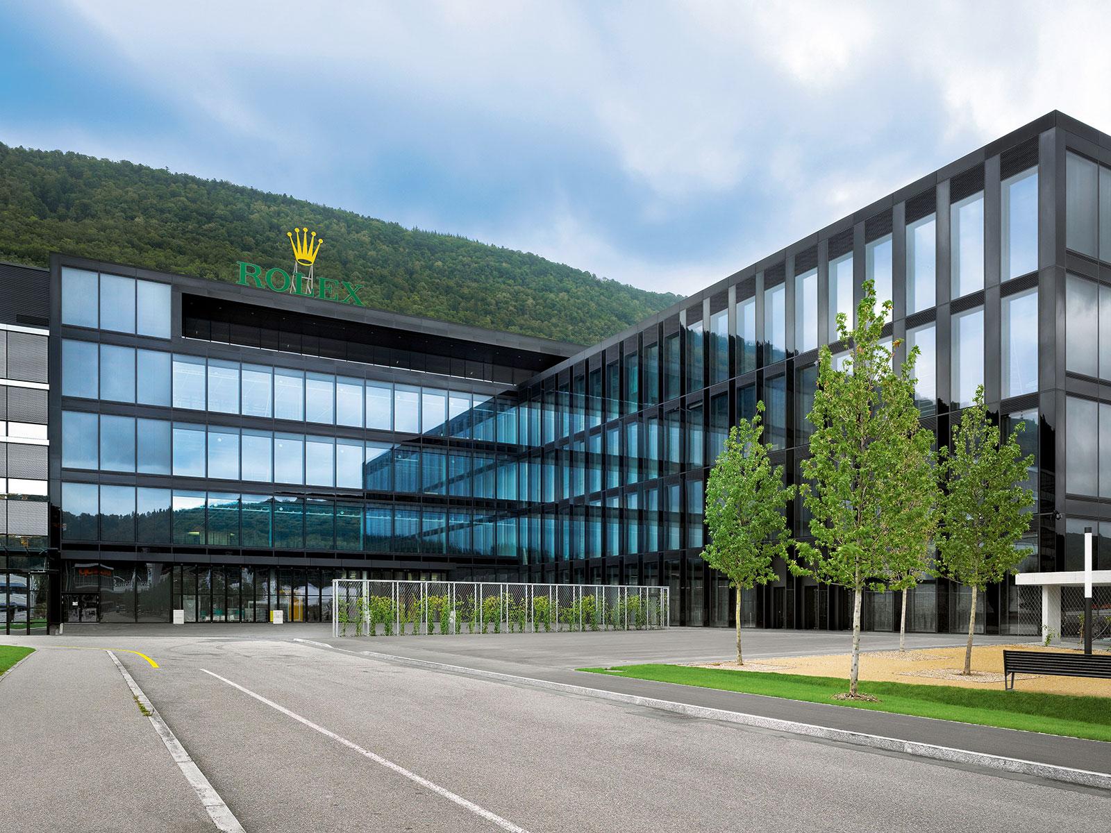 Rolex Bienne Biel factory