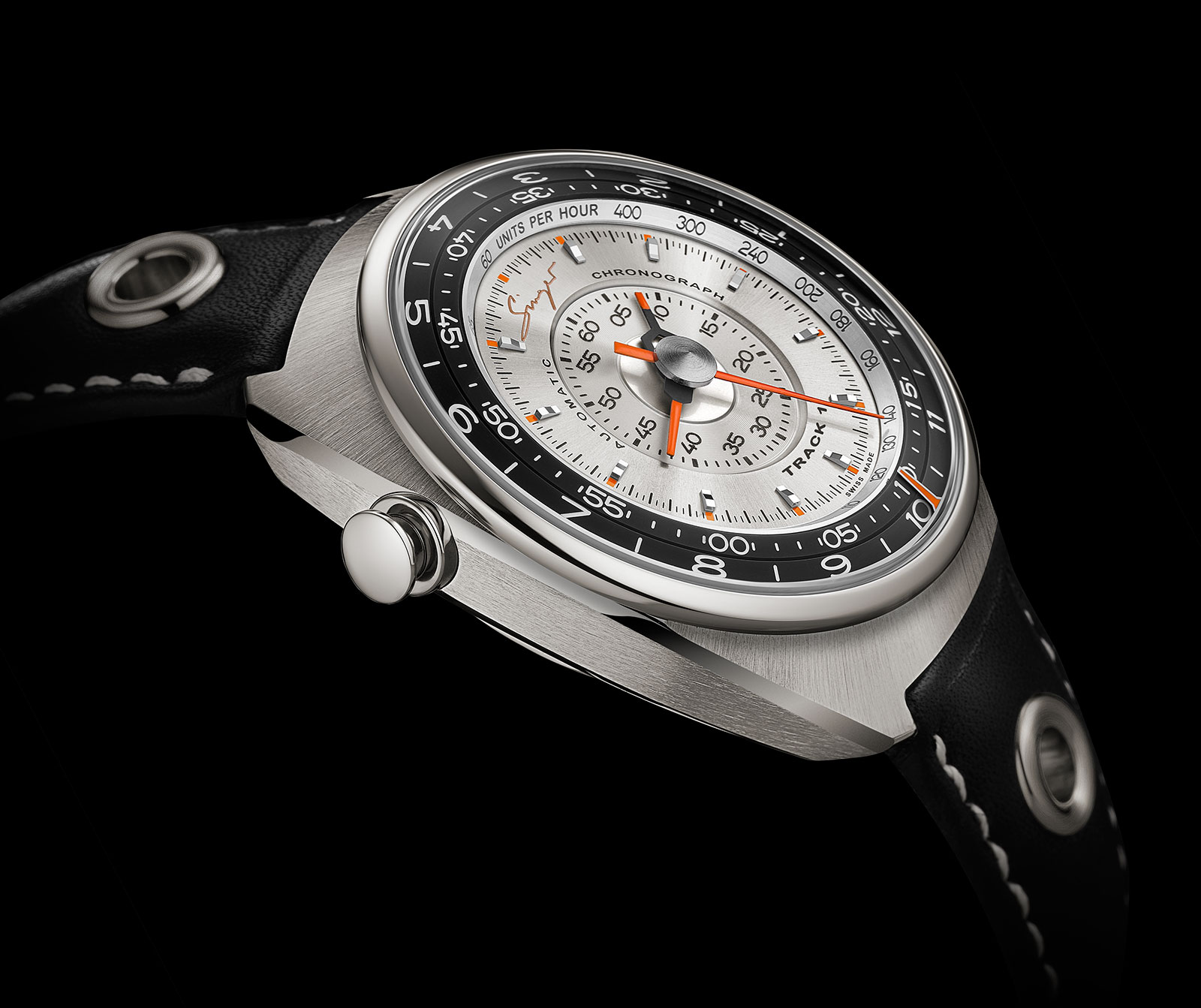 Singer Track 1 Chronograph Watch 2