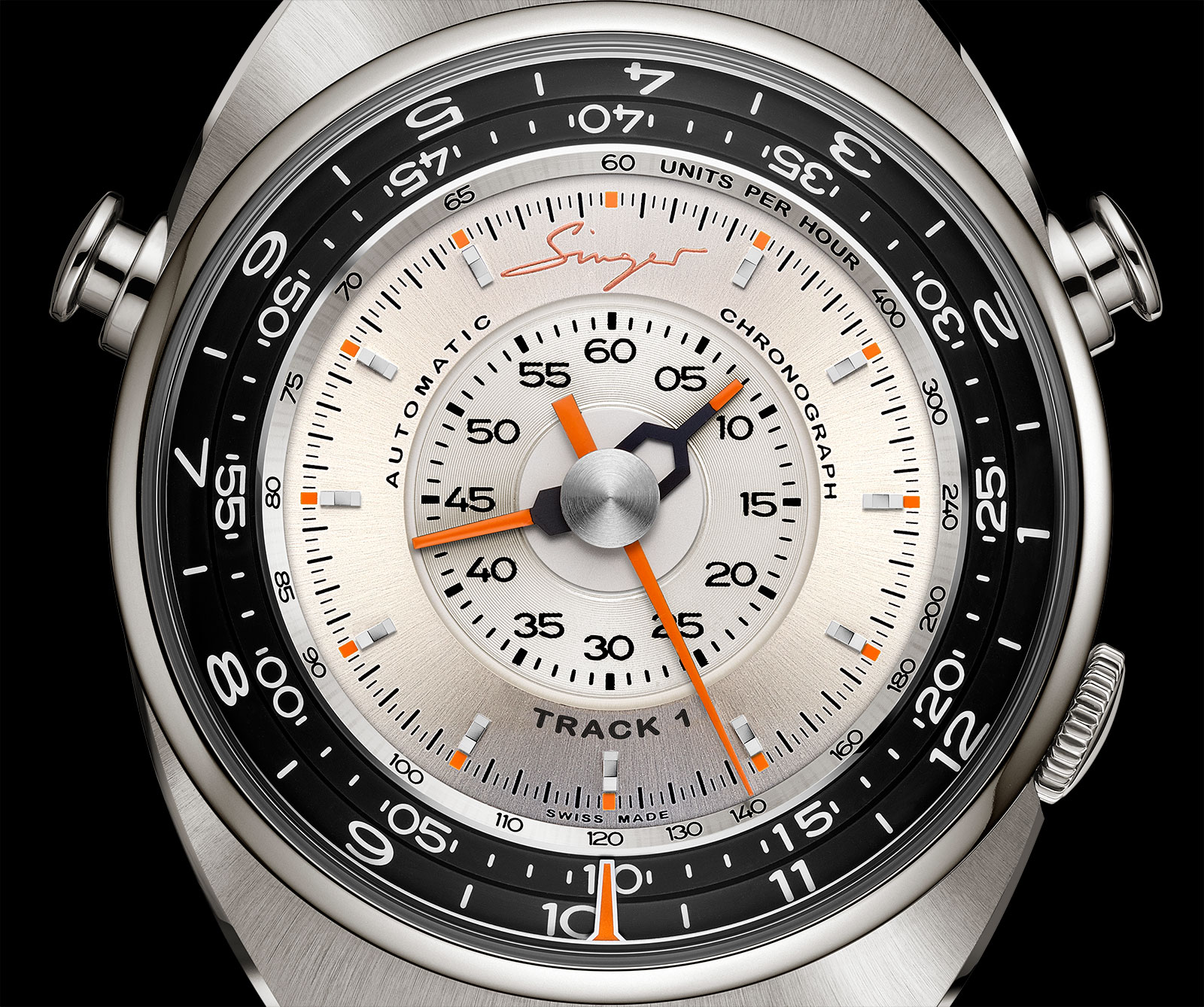 Singer Track 1 Chronograph Watch 5