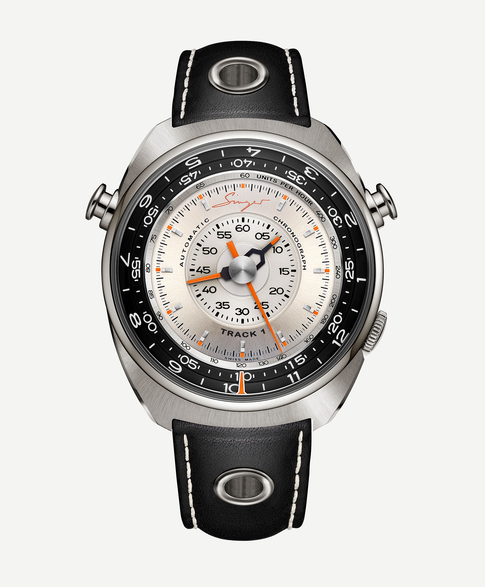 Singer Track 1 Chronograph Watch 6