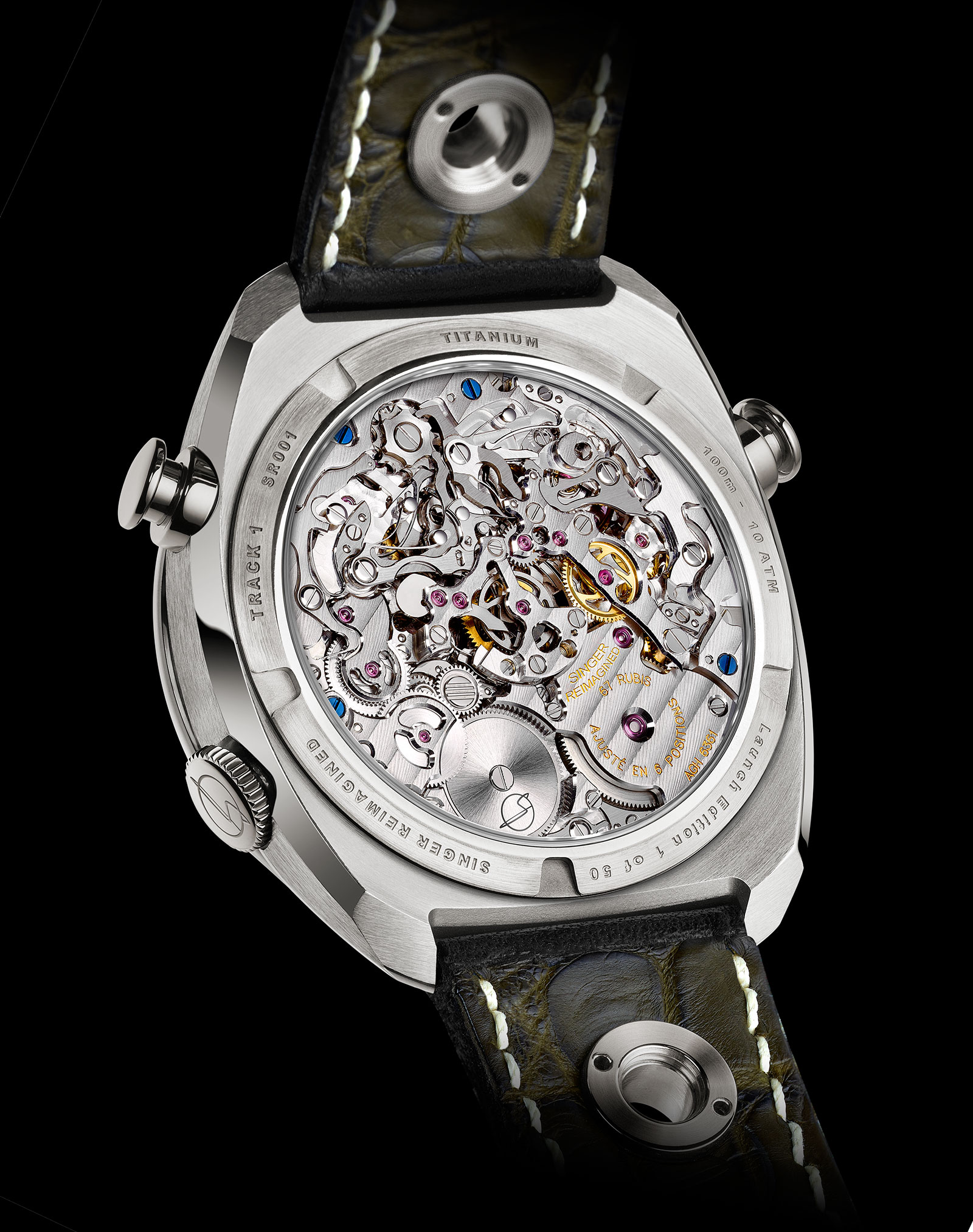 Singer Track 1 Chronograph Watch 7