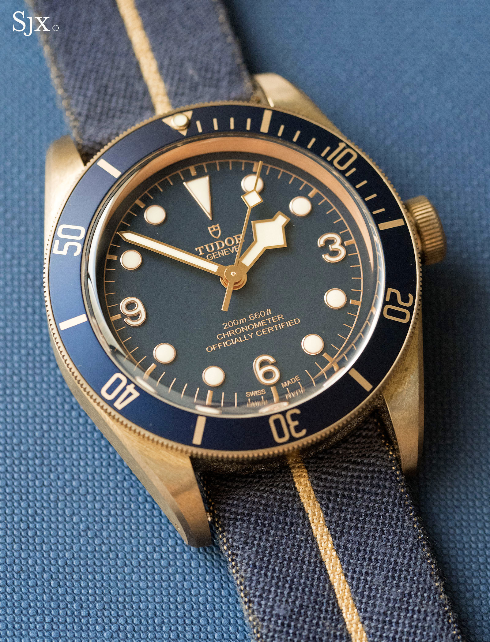 Tudor Black Bay Bronze Bucherer Blue 1